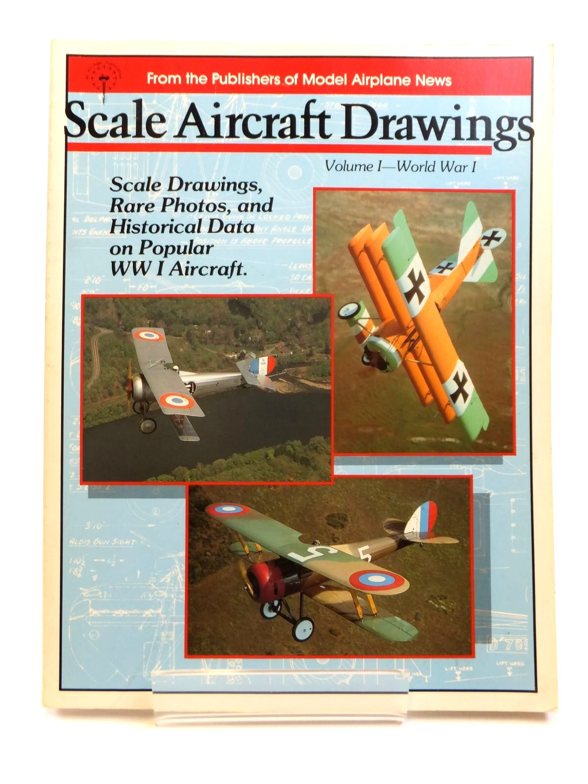 Photo of SCALE AIRCRAFT DRAWINGS VOLUME 1 - WORLD WAR I published by Air Age (STOCK CODE: 1608280)  for sale by Stella & Rose's Books