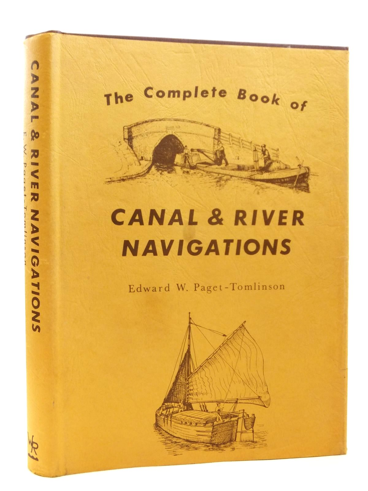 Photo of THE COMPLETE BOOK OF CANAL & RIVER NAVIGATIONS written by Paget-Tomlinson, Edward illustrated by Lewery, A.J.<br />Waine, C.V. published by Waine Research Publications (STOCK CODE: 1608288)  for sale by Stella & Rose's Books