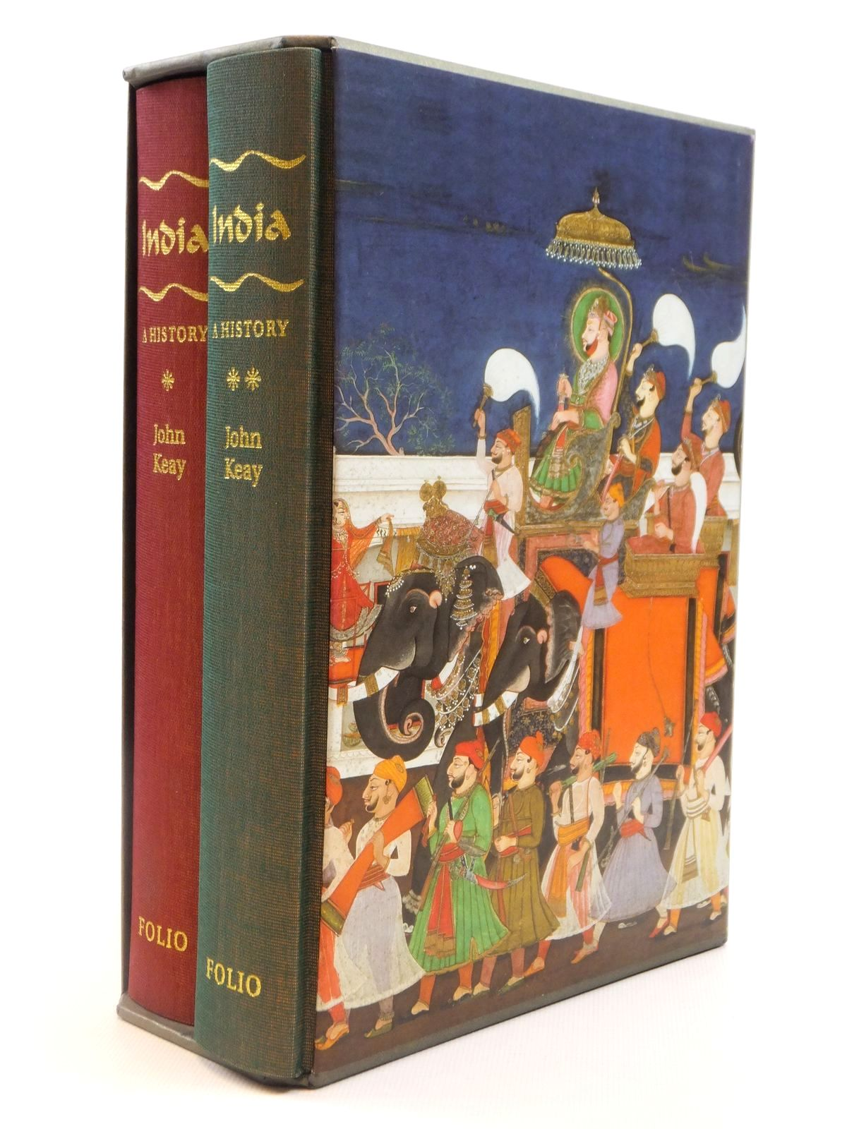 Photo of INDIA: A HISTORY (2 VOLUMES) written by Keay, John published by Folio Society (STOCK CODE: 1608353)  for sale by Stella & Rose's Books