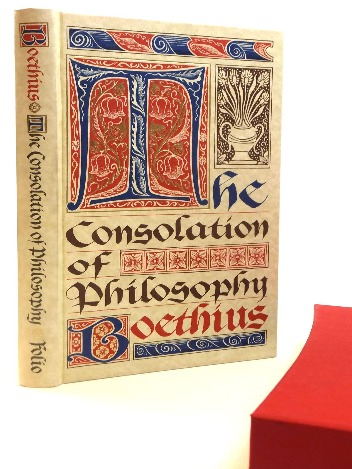 Photo of THE CONSOLATION OF PHILOSOPHY written by Boethius, <br />Watts, V.E. published by Folio Society (STOCK CODE: 1608357)  for sale by Stella & Rose's Books