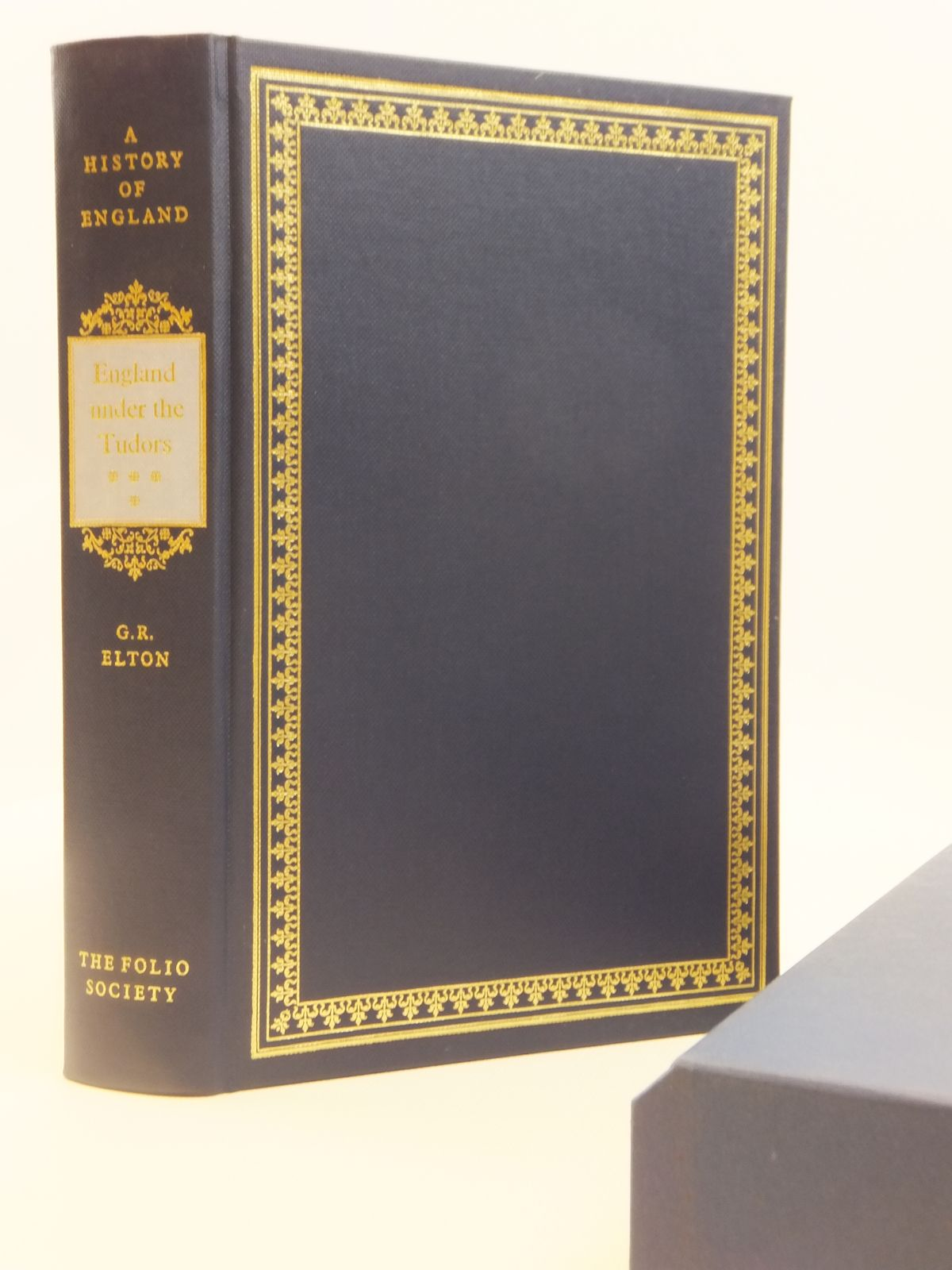 Photo of ENGLAND UNDER THE TUDORS written by Elton, Geoffrey R. published by Folio Society (STOCK CODE: 1608358)  for sale by Stella & Rose's Books