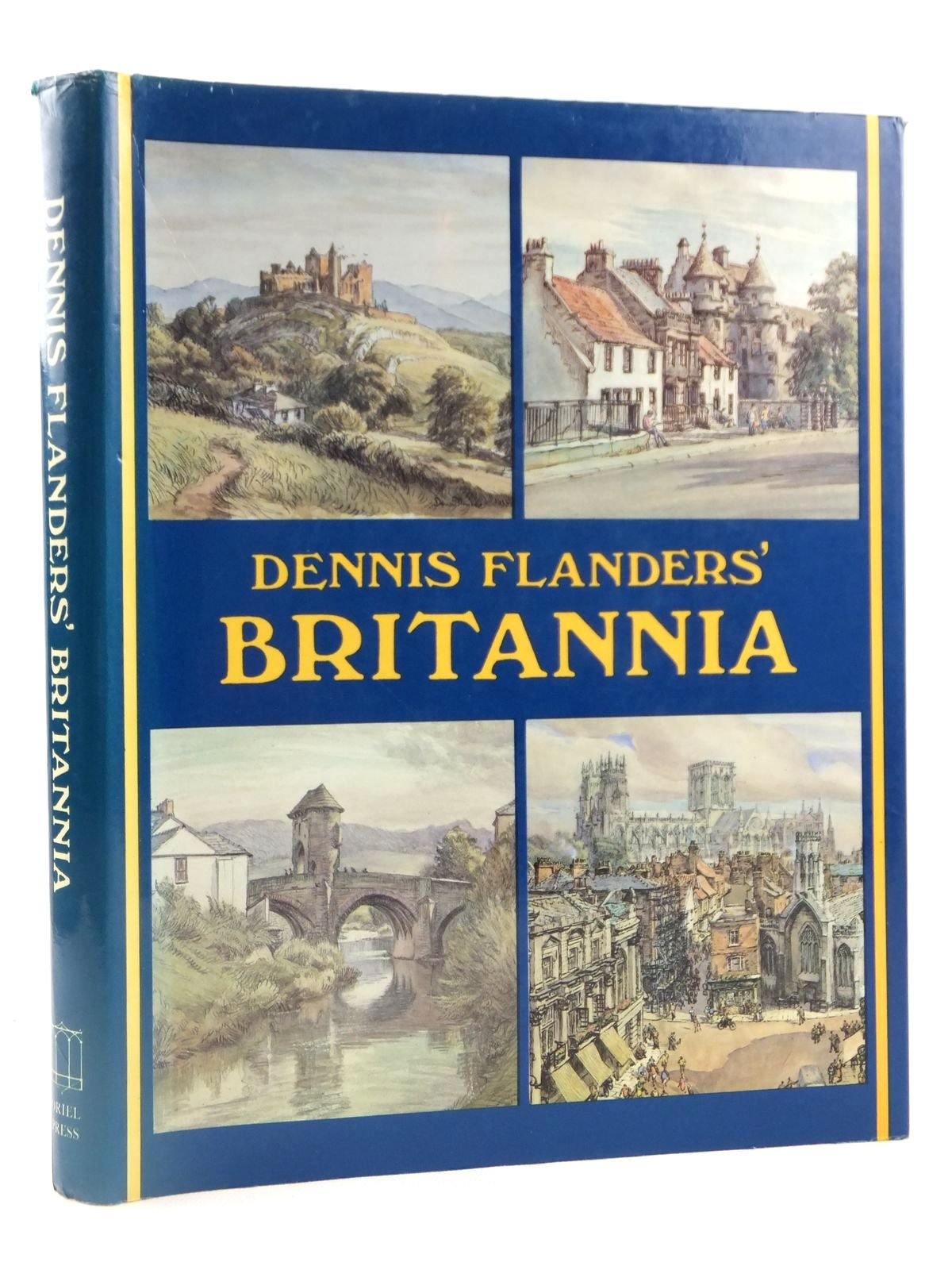 Photo of DENNIS FLANDERS' BRITANNIA written by Flanders, Dennis illustrated by Flanders, Dennis published by Oriel Press (STOCK CODE: 1608417)  for sale by Stella & Rose's Books