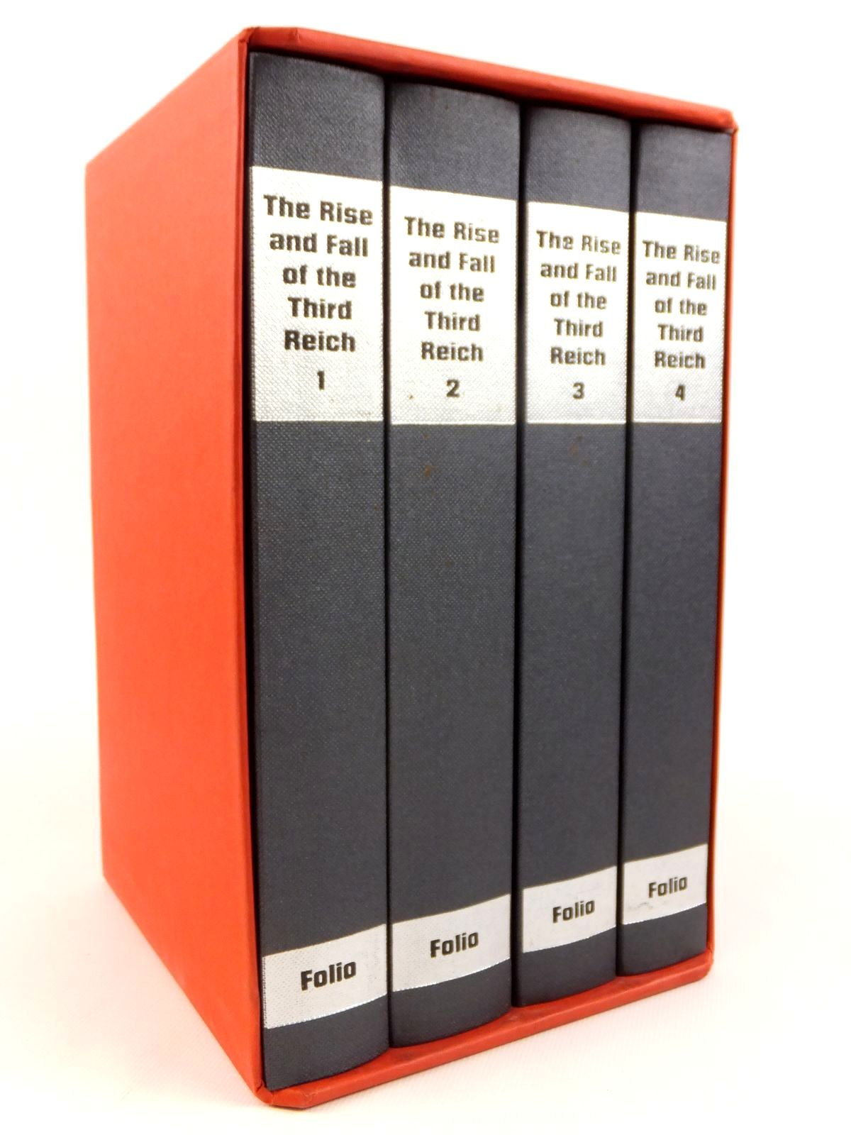 Photo of THE RISE AND FALL OF THE THIRD REICH (4 VOLUMES) written by Shirer, William L. published by Folio Society (STOCK CODE: 1608449)  for sale by Stella & Rose's Books