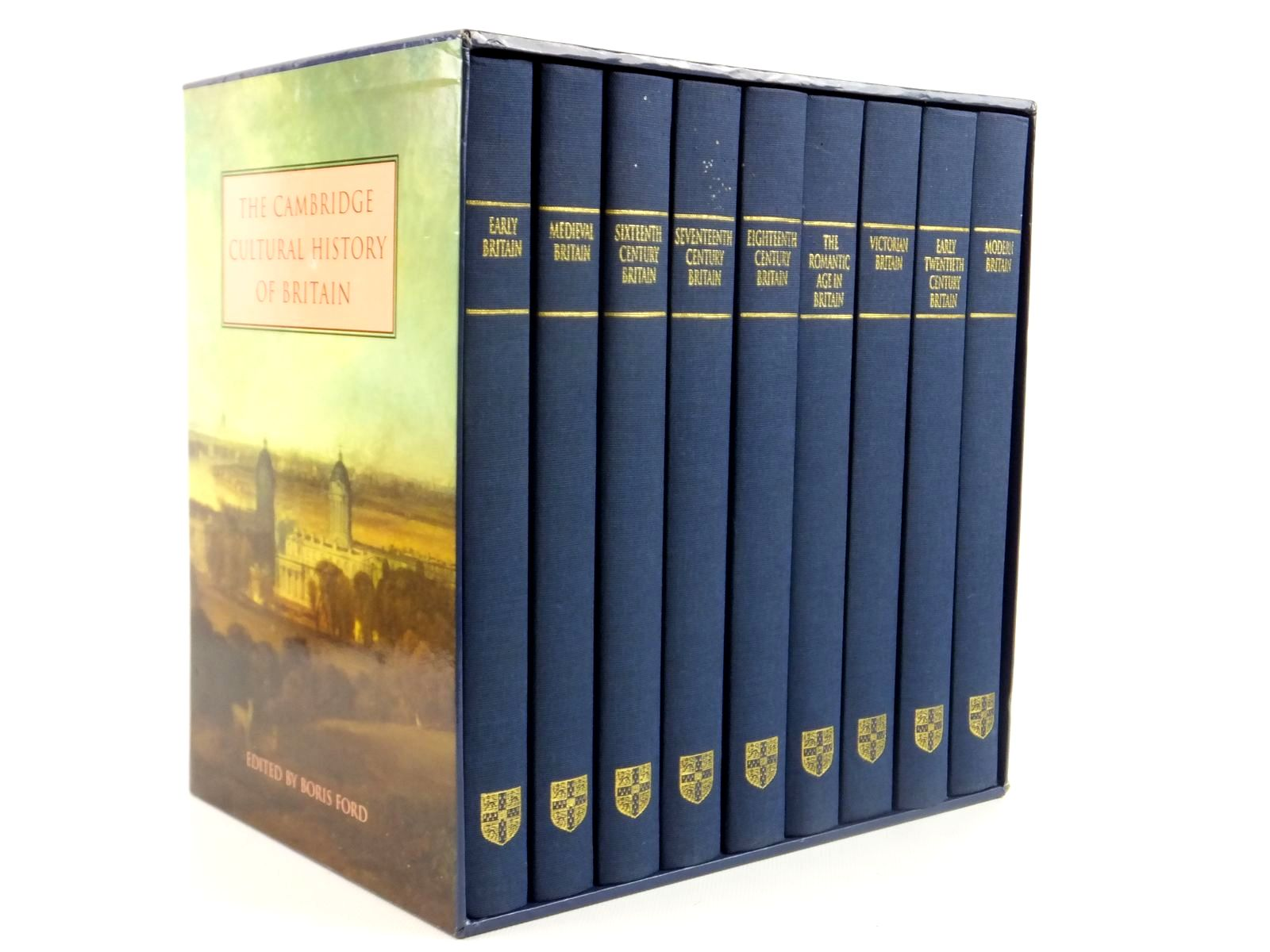 Photo of THE CAMBRIDGE CULTURAL HISTORY OF BRITAIN (9 VOLUMES) written by Ford, Boris published by Cambridge University Press, Folio Society (STOCK CODE: 1608452)  for sale by Stella & Rose's Books