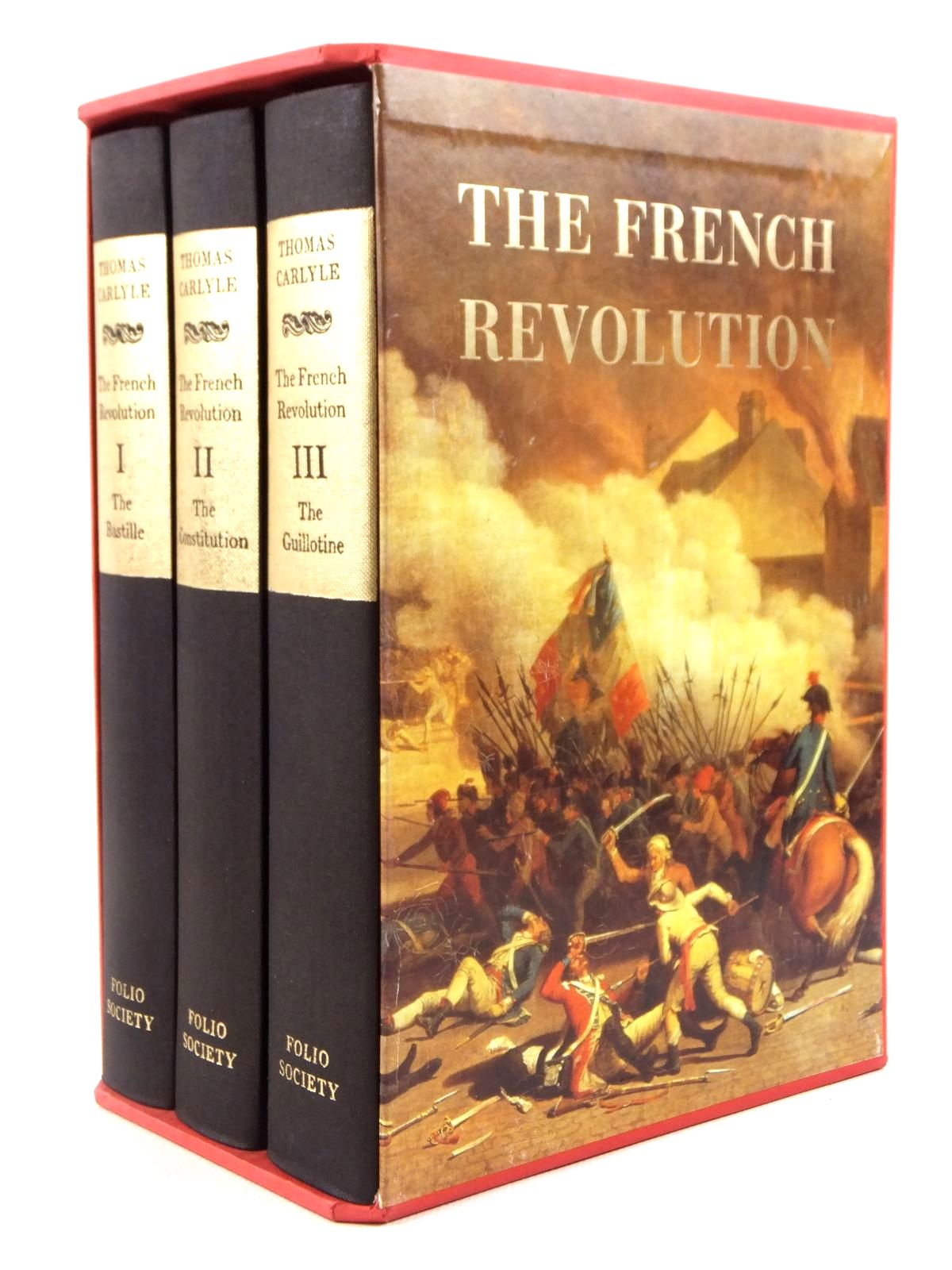 Photo of THE FRENCH REVOLUTION (3 VOLUMES) written by Carlyle, Thomas published by Folio Society (STOCK CODE: 1608455)  for sale by Stella & Rose's Books