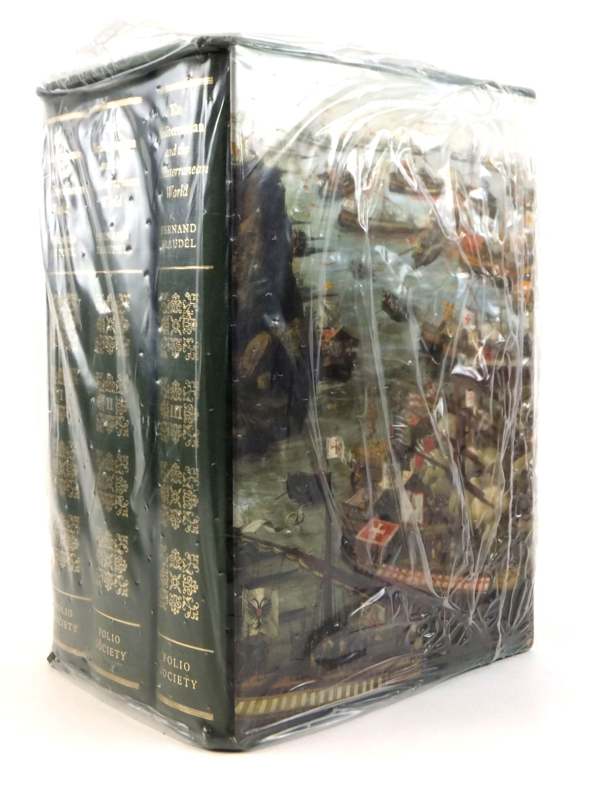 Photo of THE MEDITERRANEAN AND THE MEDITERRANEAN WORLD IN THE AGE OF PHILIP II (3 VOLUMES) written by Braudel, Fernand published by Folio Society (STOCK CODE: 1608458)  for sale by Stella & Rose's Books