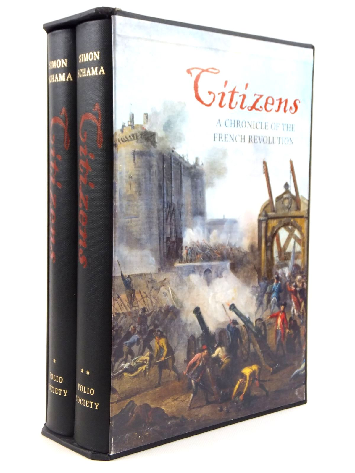 Photo of CITIZENS: A CHRONICLE OF THE FRENCH REVOLUTION (2 VOLUMES) written by Schama, Simon published by Folio Society (STOCK CODE: 1608460)  for sale by Stella & Rose's Books