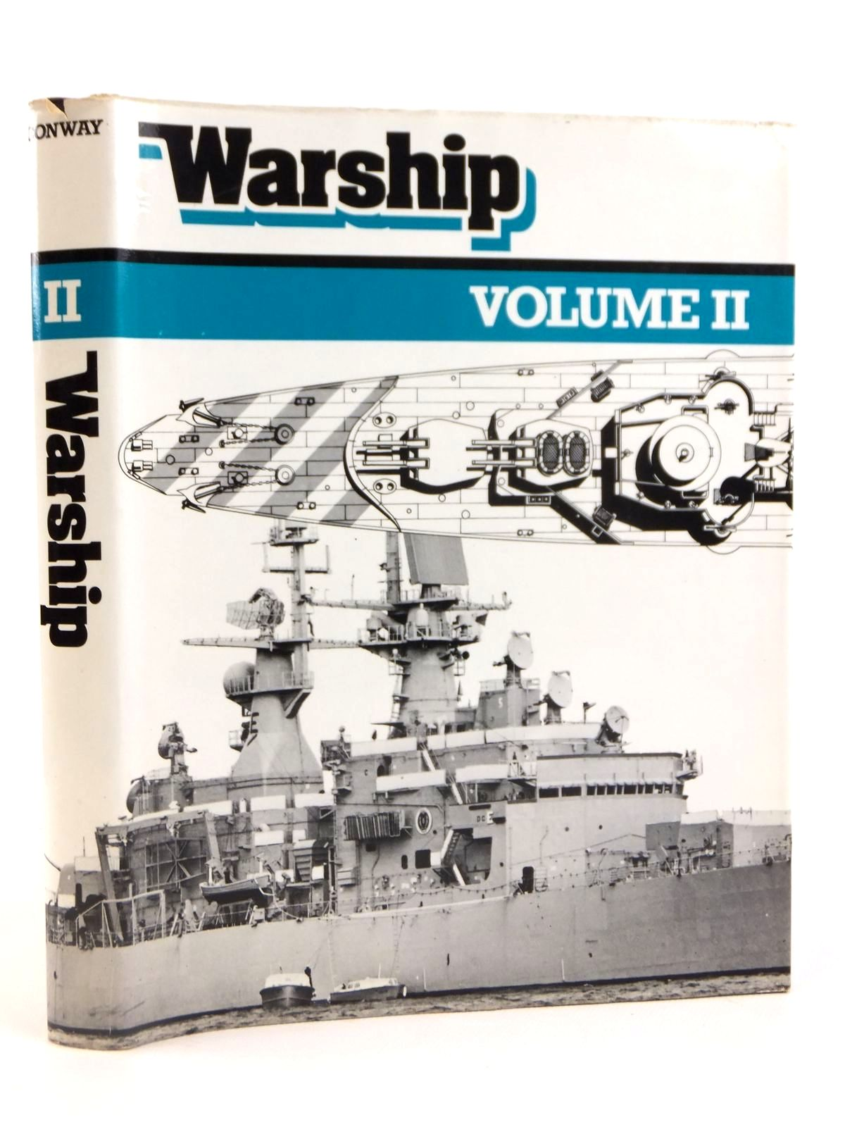 Photo of WARSHIP VOLUME II written by Preston, Anthony published by Conway Maritime Press (STOCK CODE: 1608462)  for sale by Stella & Rose's Books