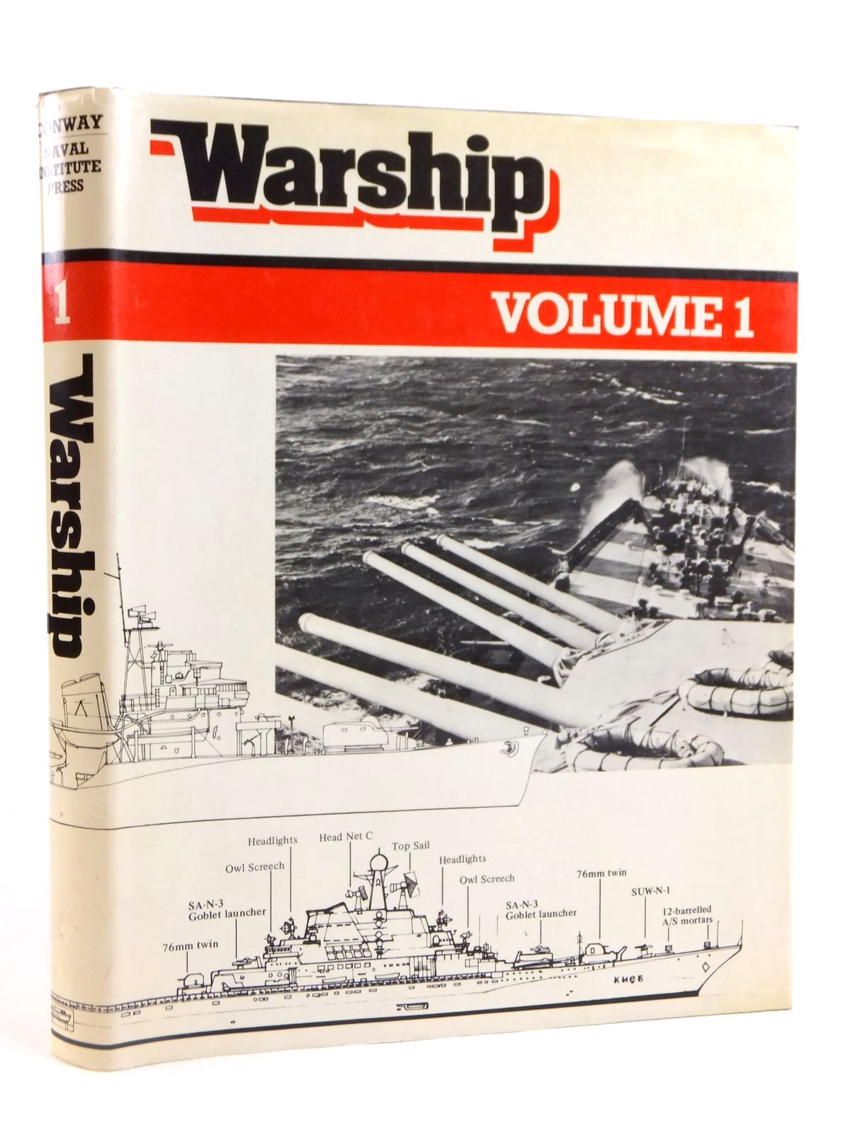 Photo of WARSHIP VOLUME 1 written by Preston, Anthony published by Conway Maritime Press (STOCK CODE: 1608463)  for sale by Stella & Rose's Books
