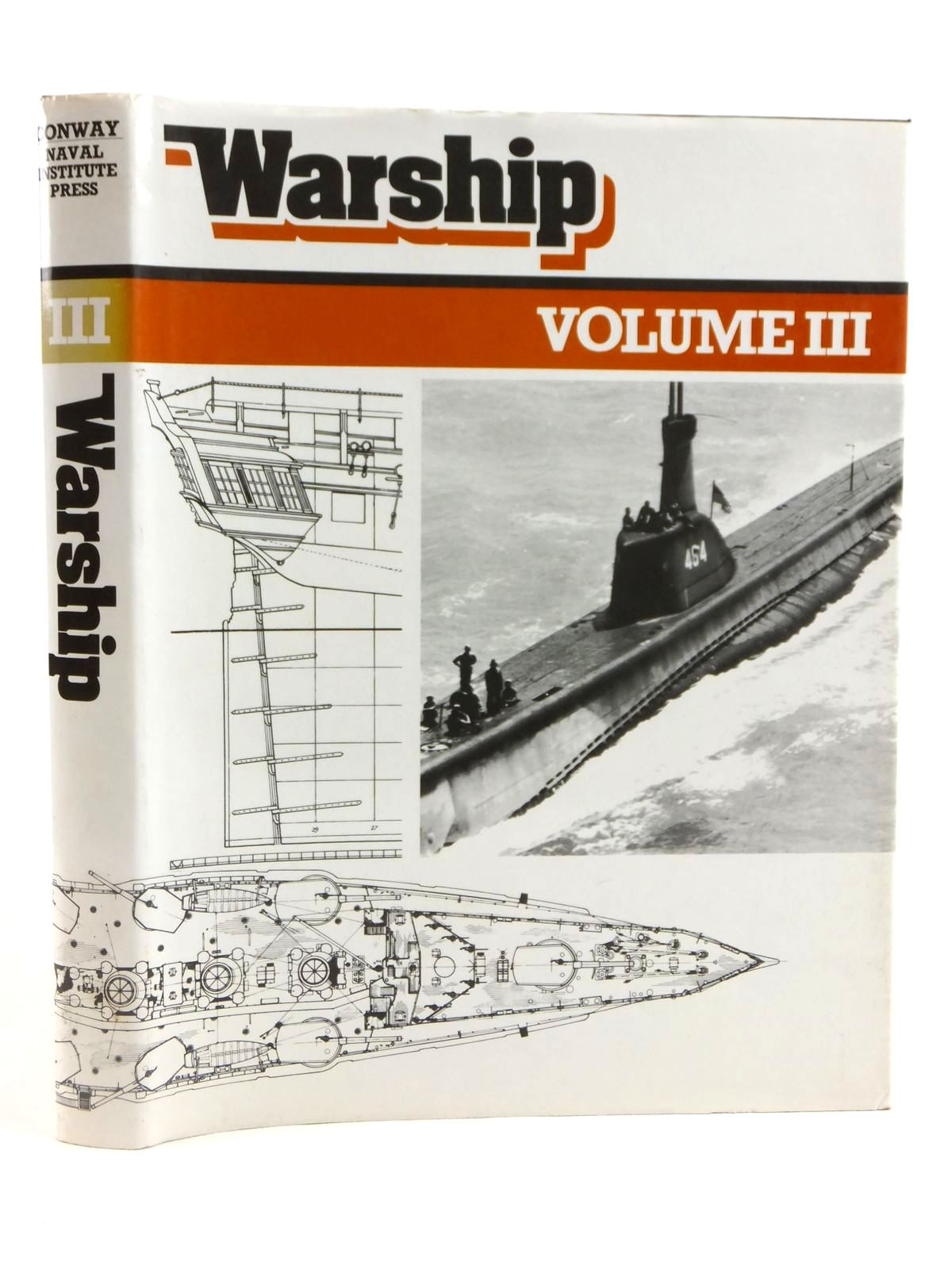 Photo of WARSHIP VOLUME III written by Roberts, John published by Conway Maritime Press (STOCK CODE: 1608465)  for sale by Stella & Rose's Books