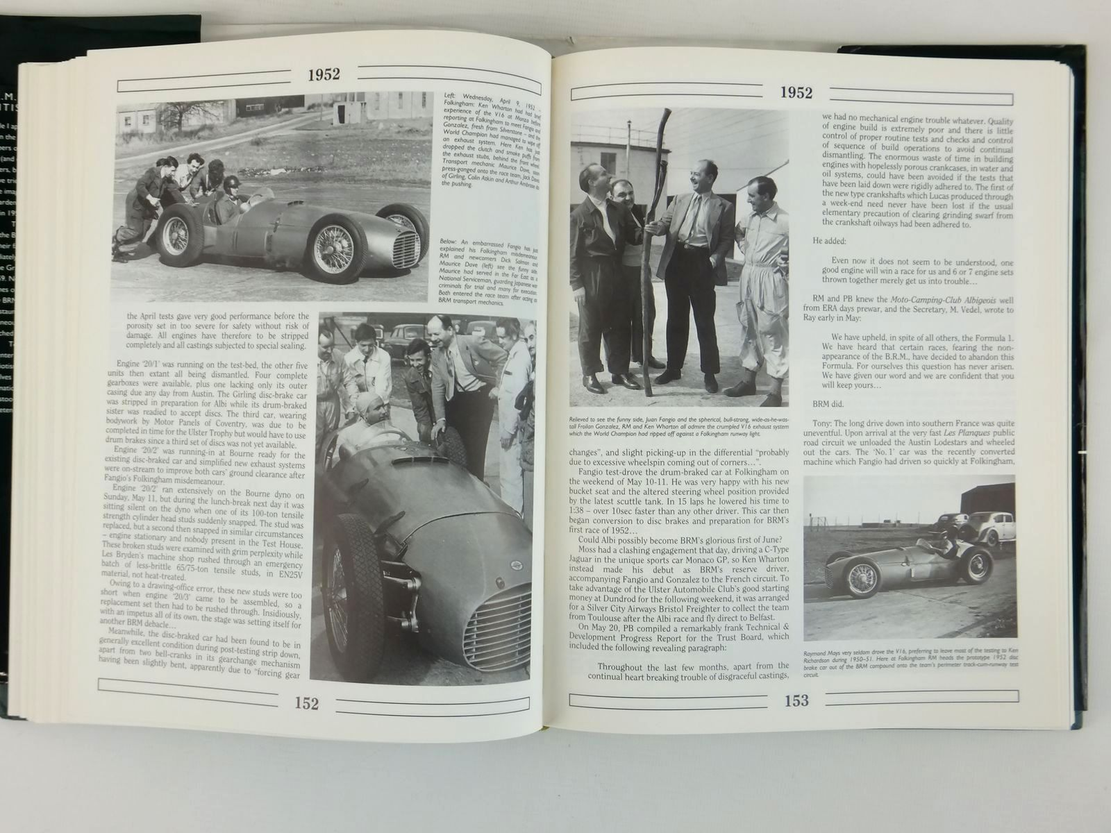Photo of B.R.M. THE SAGA OF BRITISH RACING MOTORS VOLUME 1 written by Nye, Doug<br />Rudd, Tony published by Motor Racing Publications Ltd. (STOCK CODE: 1608468)  for sale by Stella & Rose's Books