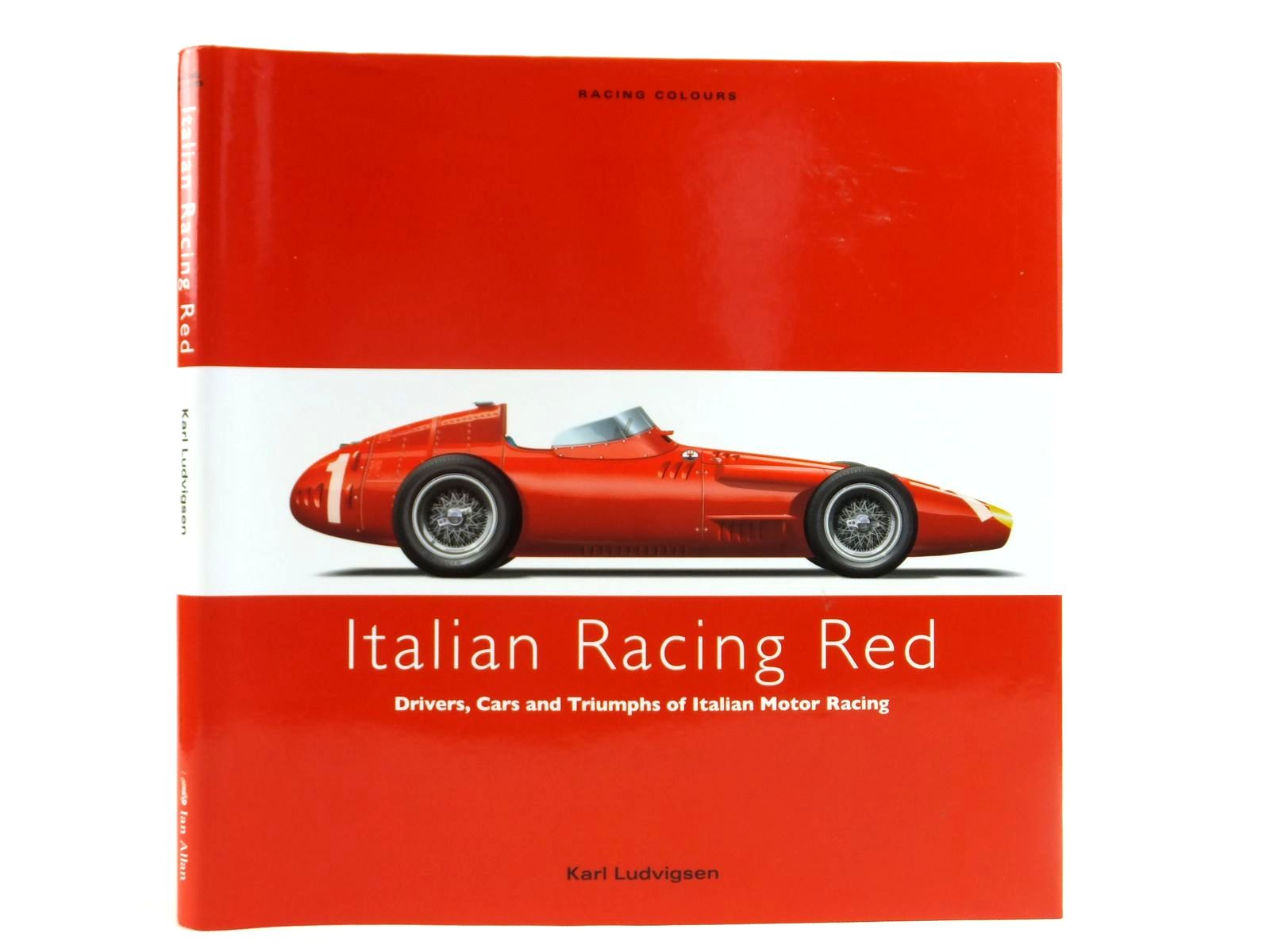 Photo of ITALIAN RACING RED written by Ludvigsen, Karl published by Ian Allan (STOCK CODE: 1608492)  for sale by Stella & Rose's Books