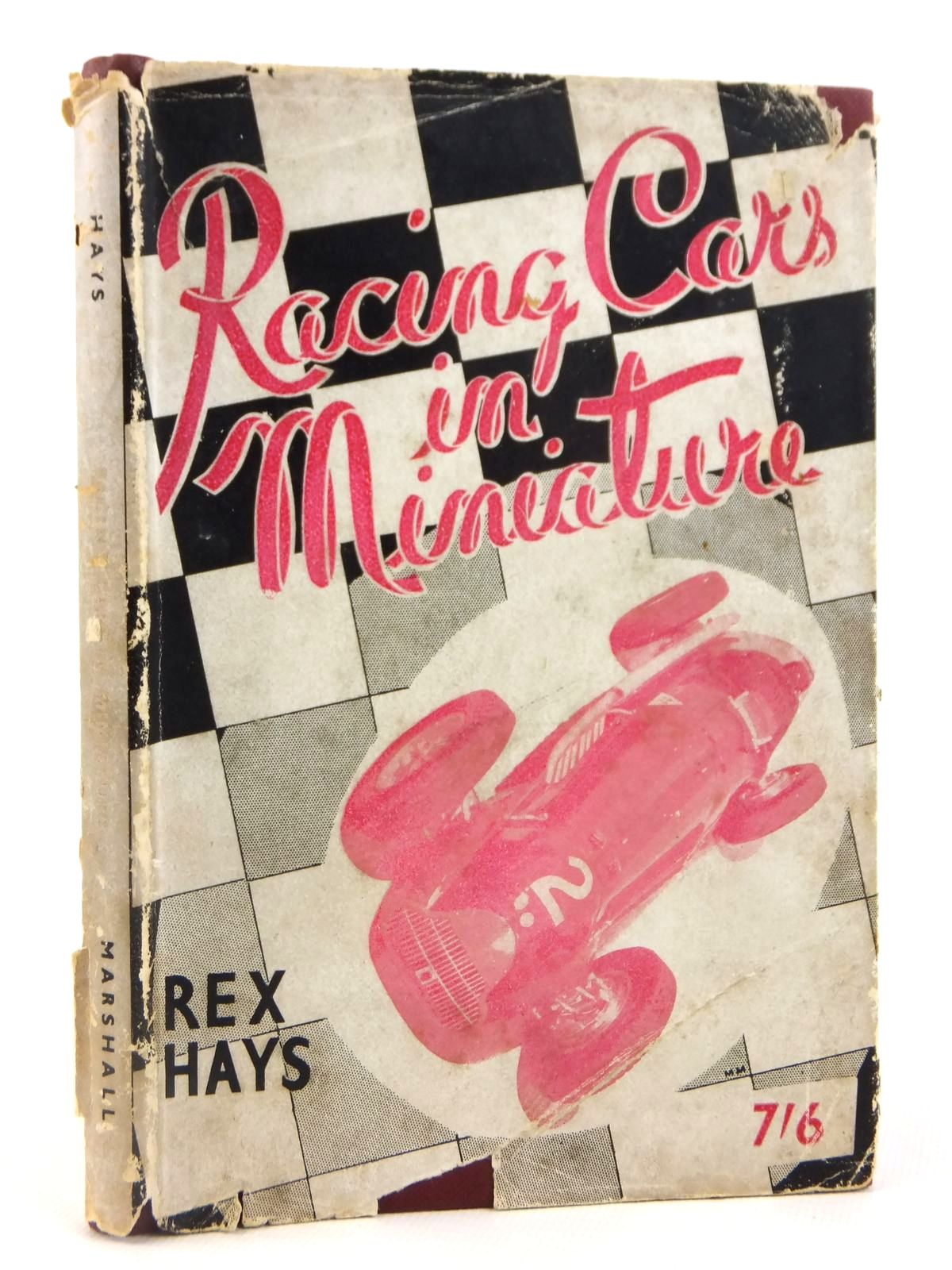 Photo of RACING CARS IN MINIATURE written by Hays, Rex published by Percival Marshall And Co (STOCK CODE: 1608592)  for sale by Stella & Rose's Books