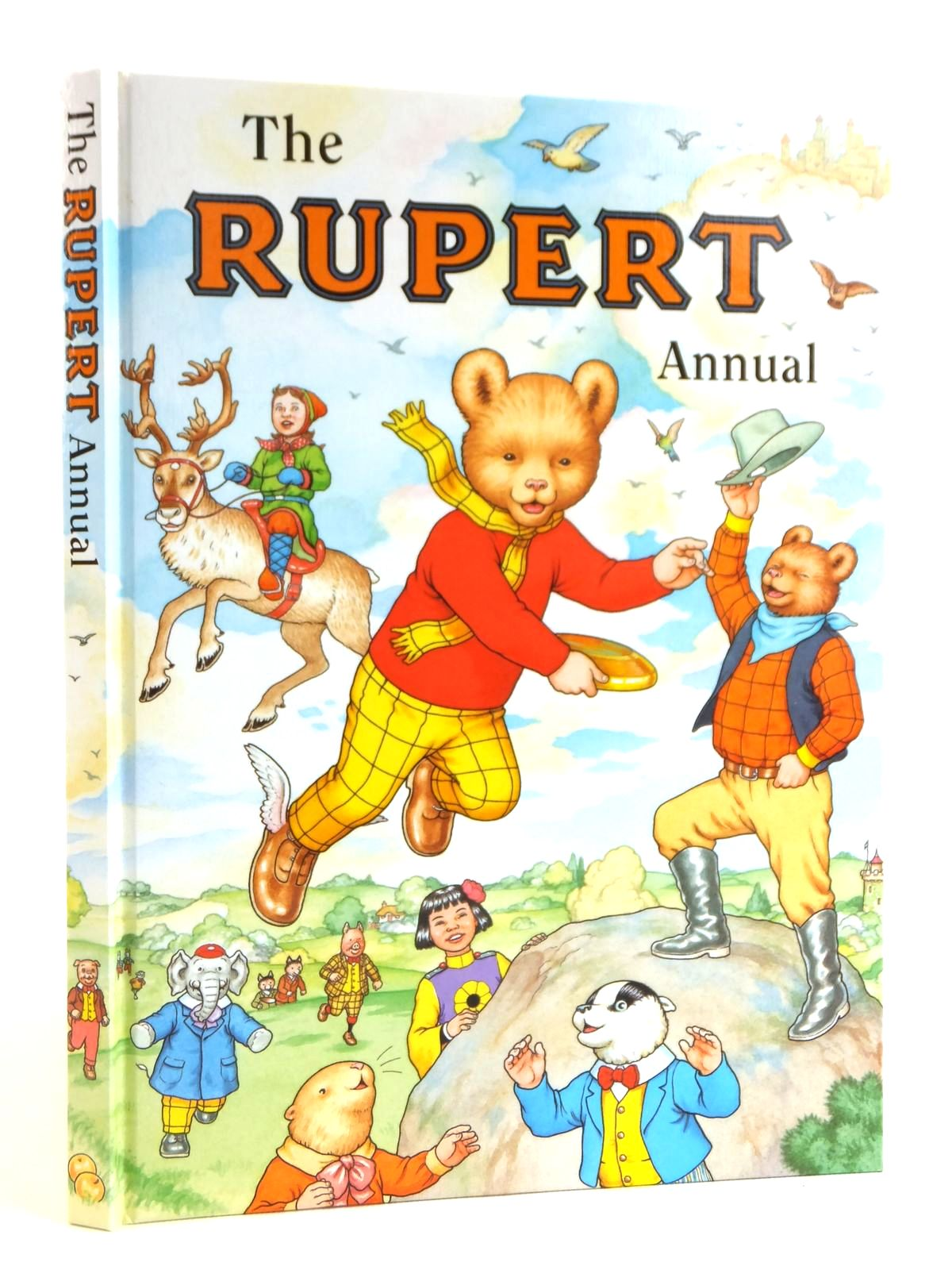 Photo of RUPERT ANNUAL 1999 written by Robinson, Ian illustrated by Harrold, John<br />Hart, Gina published by Pedigree Books Limited (STOCK CODE: 1608611)  for sale by Stella & Rose's Books