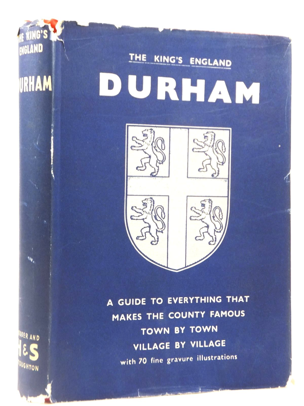 Photo of DURHAM (KING'S ENGLAND) written by Mee, Arthur published by Hodder & Stoughton (STOCK CODE: 1608671)  for sale by Stella & Rose's Books