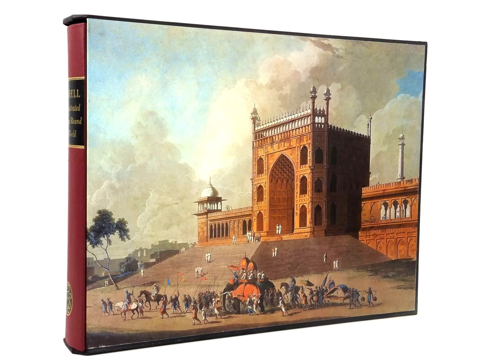 Photo of AN ILLUSTRATED JOURNEY ROUND THE WORLD written by Daniell, Thomas<br />Daniell, Samuel<br />Daniell, William<br />Prior, Katherine illustrated by Daniell, Samuel<br />Daniell, Thomas<br />Daniell, William published by Folio Society (STOCK CODE: 1608674)  for sale by Stella & Rose's Books