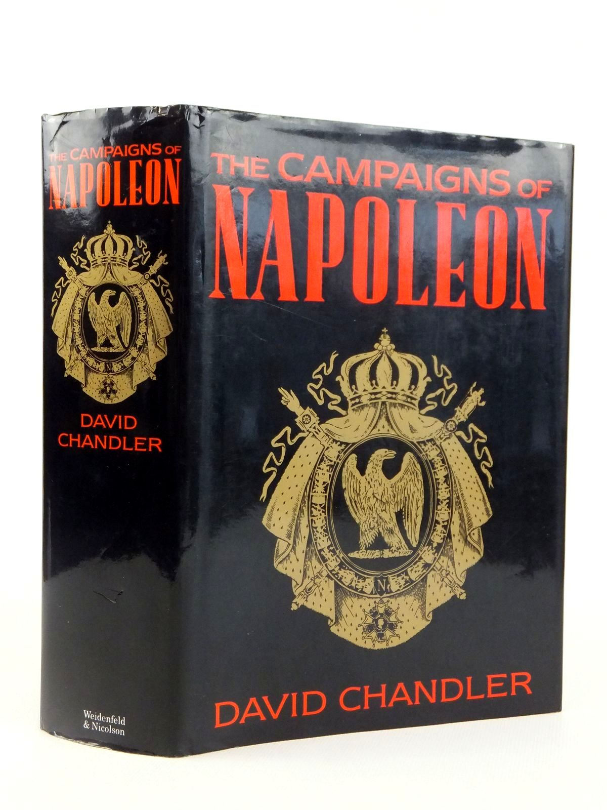Photo of THE CAMPAIGNS OF NAPOLEON written by Chandler, David G. published by Weidenfeld and Nicolson (STOCK CODE: 1608709)  for sale by Stella & Rose's Books