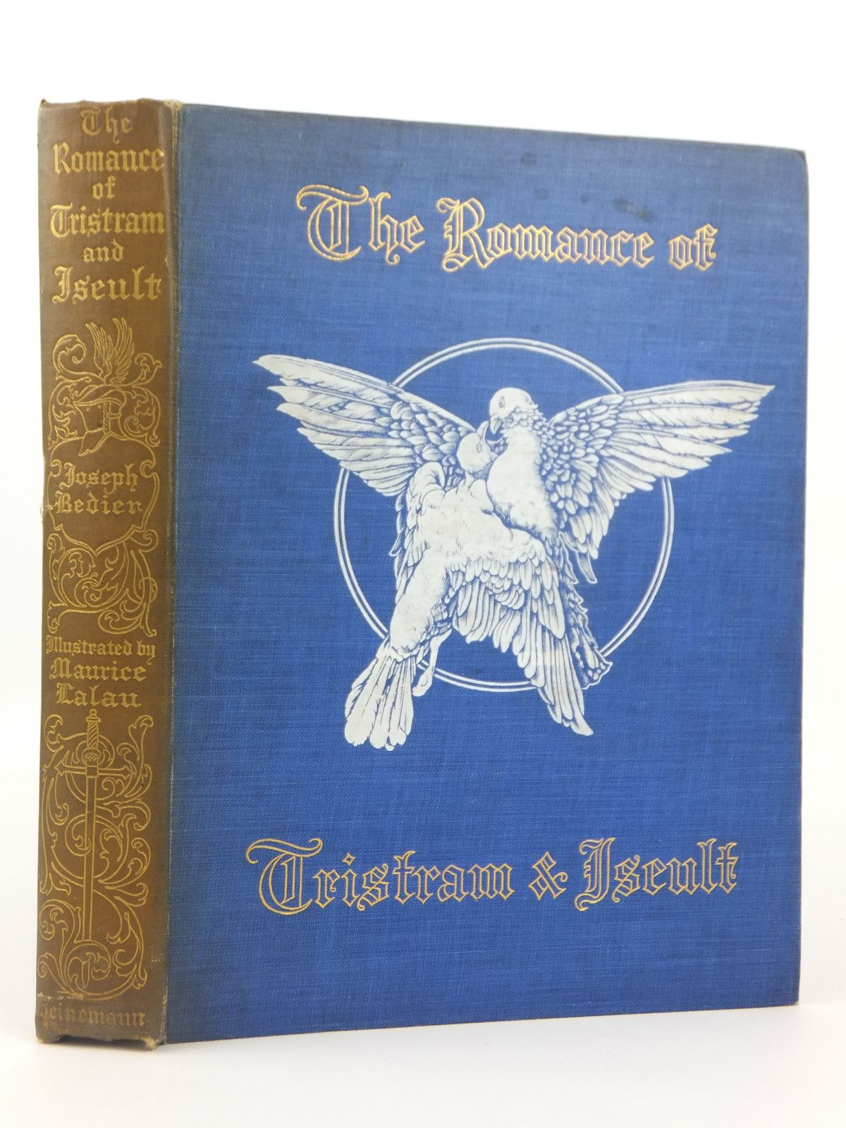Photo of THE ROMANCE OF TRISTRAM AND ISEULT written by Bedier, Joseph illustrated by Lalau, Maurice published by William Heinemann (STOCK CODE: 1608773)  for sale by Stella & Rose's Books