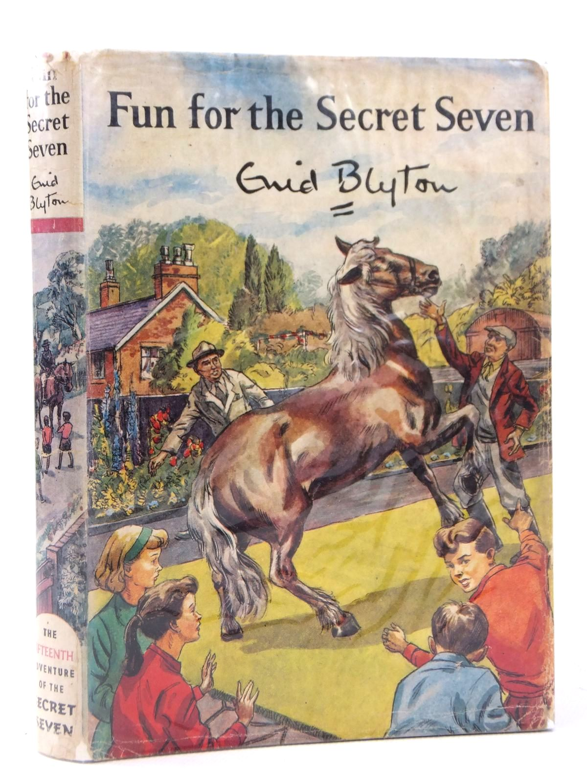 Photo of FUN FOR THE SECRET SEVEN written by Blyton, Enid illustrated by Sharrocks, Burgess published by Brockhampton Press (STOCK CODE: 1608785)  for sale by Stella & Rose's Books