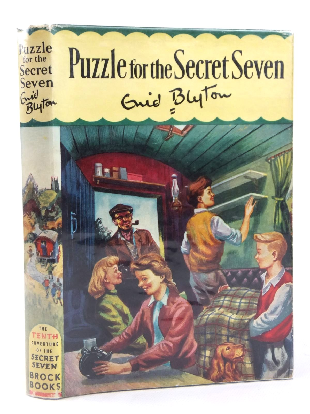 Photo of PUZZLE FOR THE SECRET SEVEN written by Blyton, Enid illustrated by Sharrocks, Burgess published by Brockhampton Press (STOCK CODE: 1608787)  for sale by Stella & Rose's Books