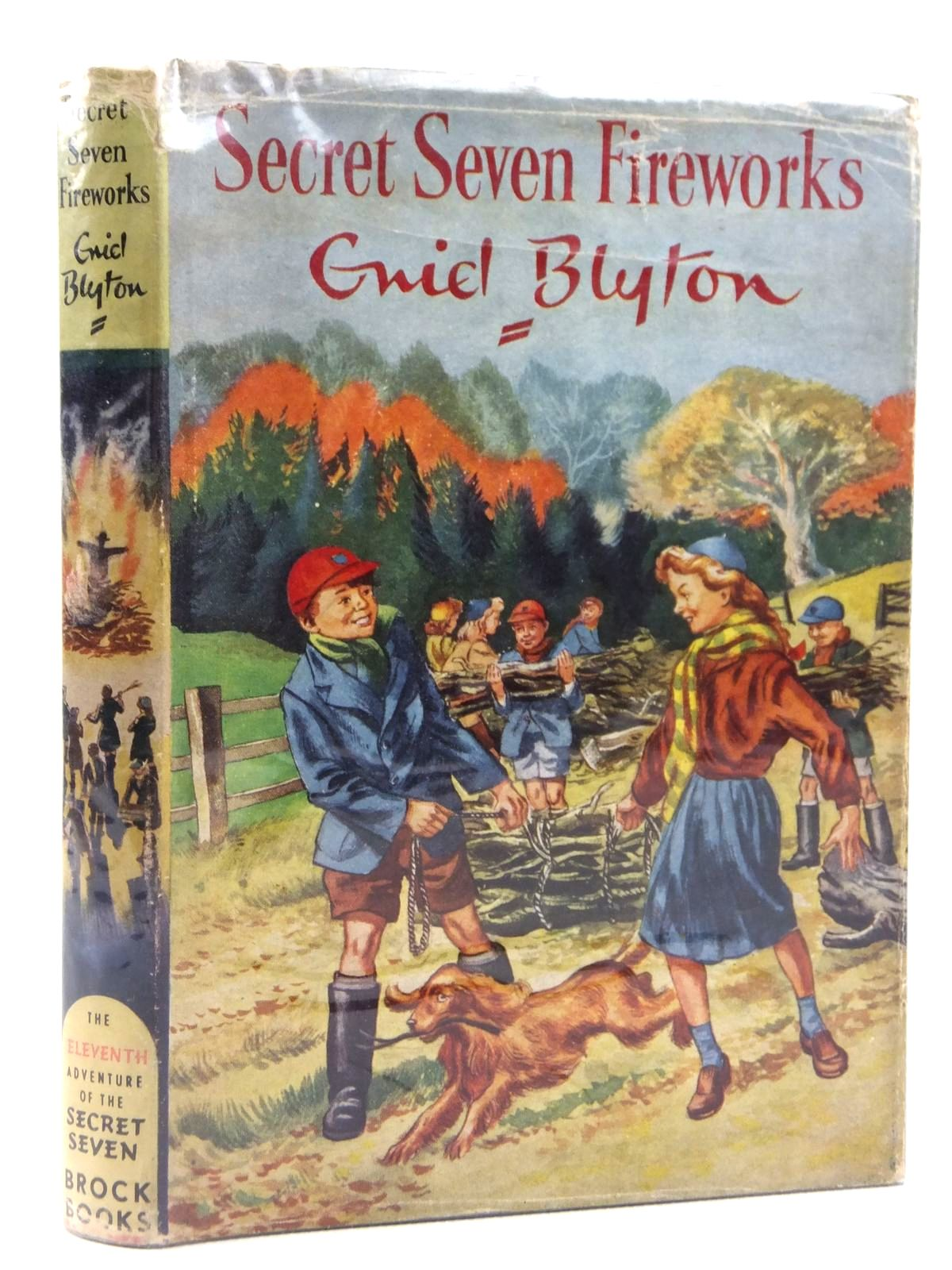 Photo of SECRET SEVEN FIREWORKS written by Blyton, Enid illustrated by Sharrocks, Burgess published by Brockhampton Press (STOCK CODE: 1608788)  for sale by Stella & Rose's Books