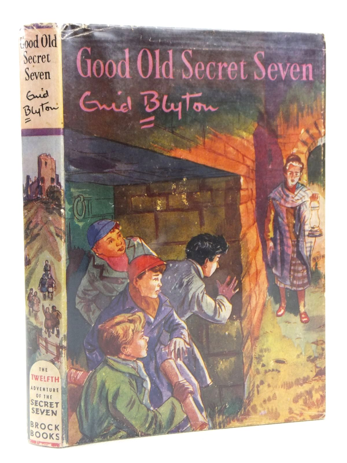 Photo of GOOD OLD SECRET SEVEN written by Blyton, Enid illustrated by Sharrocks, Burgess published by Brockhampton Press (STOCK CODE: 1608789)  for sale by Stella & Rose's Books