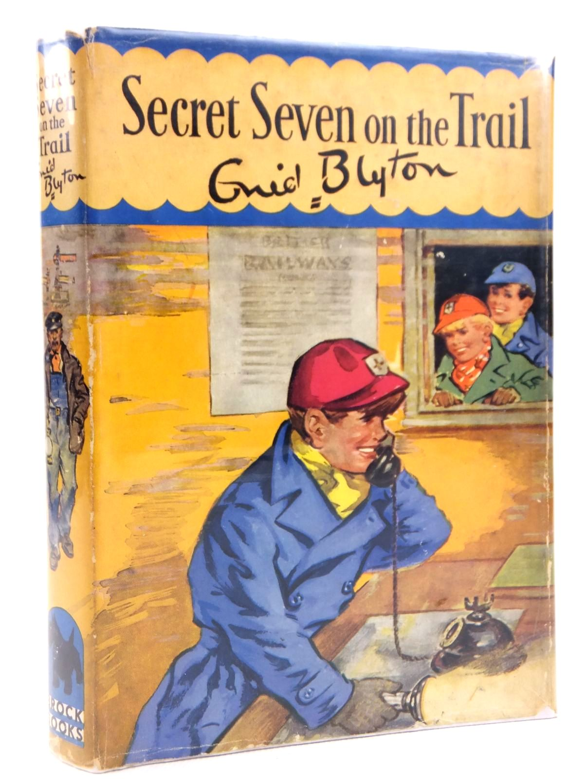 Photo of SECRET SEVEN ON THE TRAIL written by Blyton, Enid illustrated by Brook, George published by The Brockhampton Press Ltd. (STOCK CODE: 1608795)  for sale by Stella & Rose's Books
