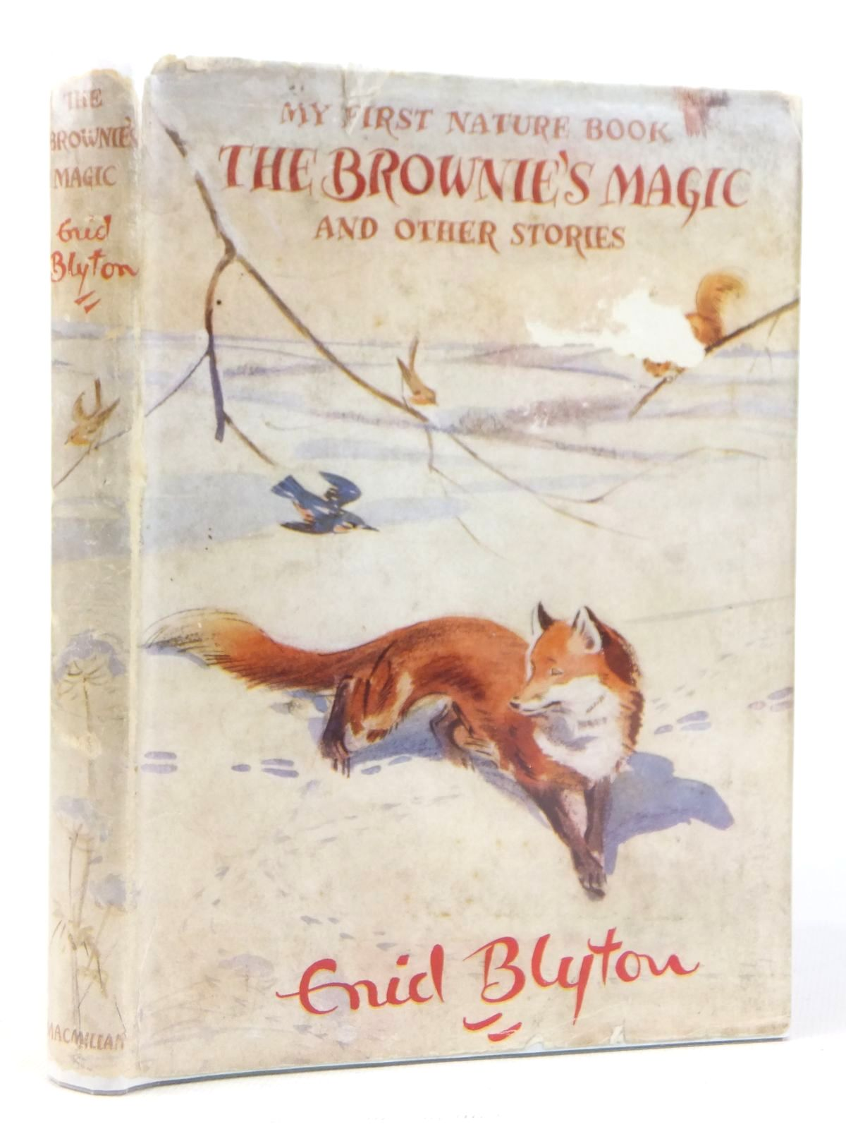 Photo of MY FIRST NATURE BOOK THE BROWNIE'S MAGIC AND OTHER STORIES written by Blyton, Enid illustrated by Soper, Eileen published by Macmillan & Co. Ltd. (STOCK CODE: 1608821)  for sale by Stella & Rose's Books