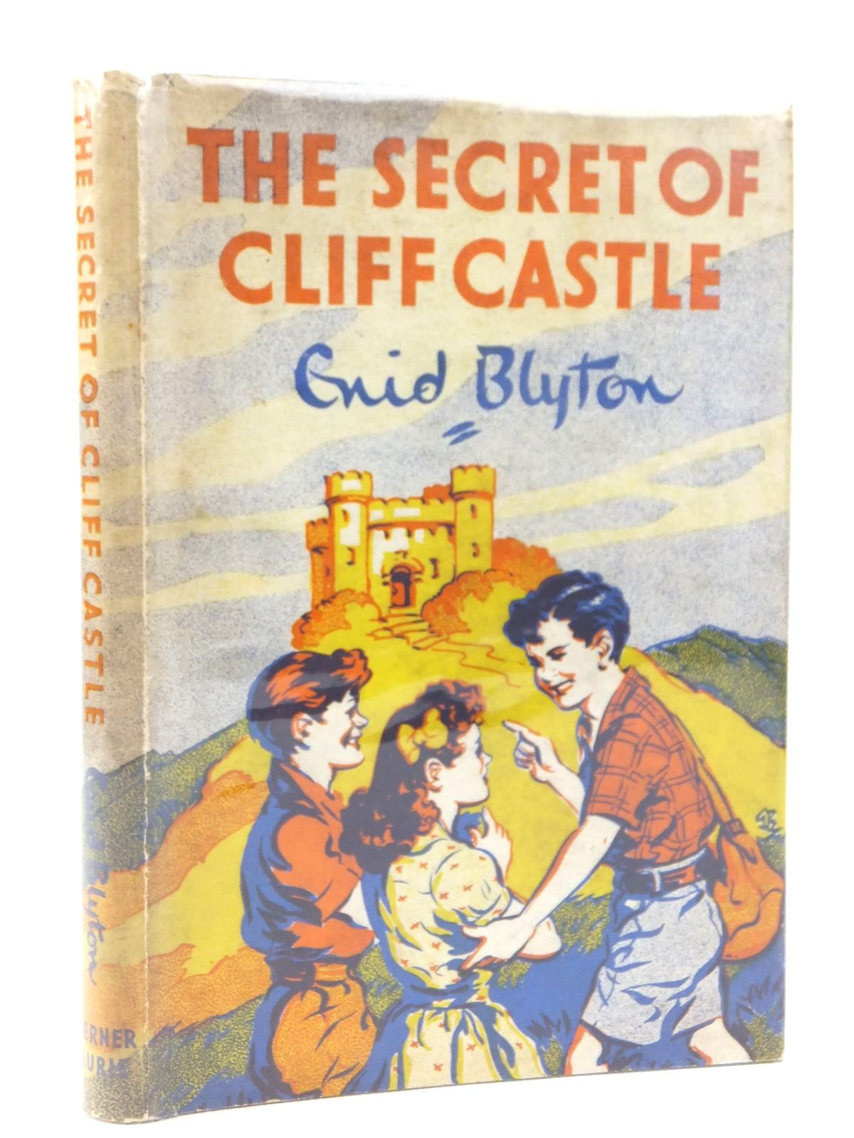 Photo of THE SECRET OF CLIFF CASTLE written by Blyton, Enid illustrated by Brook, G. published by Werner Laurie (STOCK CODE: 1608823)  for sale by Stella & Rose's Books