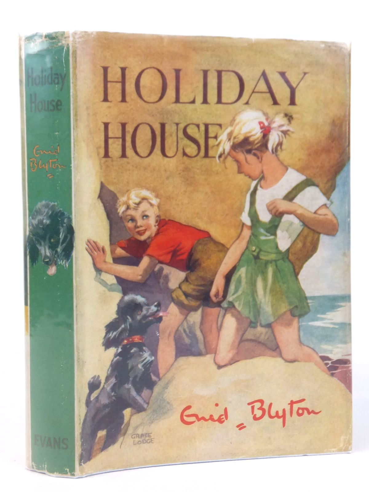 Photo of HOLIDAY HOUSE written by Blyton, Enid illustrated by Lodge, Grace published by Evans Brothers Limited (STOCK CODE: 1608826)  for sale by Stella & Rose's Books