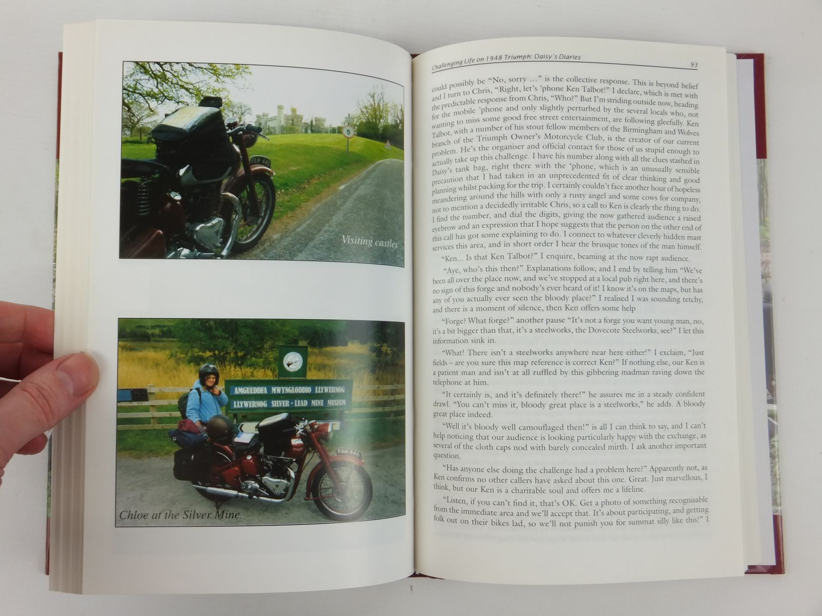 Photo of DAISY'S DIARIES CHALLENGING LIFE ON A 1948 TRIUMPH written by Ham, Graham published by Panther Publishing (STOCK CODE: 1608895)  for sale by Stella & Rose's Books