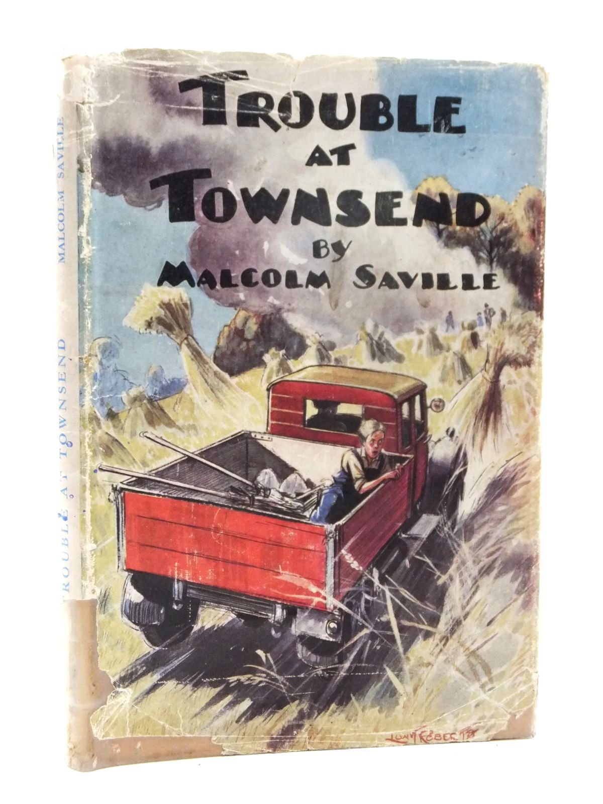 Photo of TROUBLE AT TOWNSEND written by Saville, Malcolm illustrated by Roberts, Lunt published by Transatlantic Arts Ltd. (STOCK CODE: 1609067)  for sale by Stella & Rose's Books