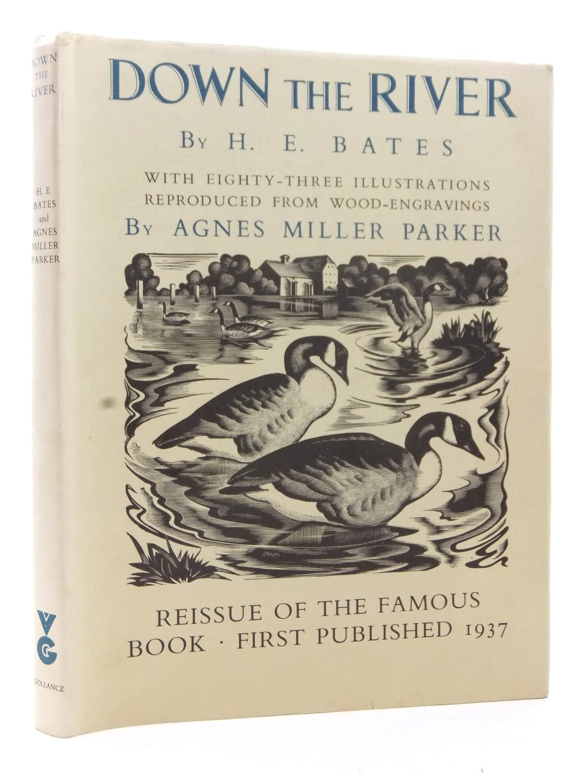 Photo of DOWN THE RIVER written by Bates, H.E. illustrated by Parker, Agnes Miller published by Victor Gollancz (STOCK CODE: 1609109)  for sale by Stella & Rose's Books