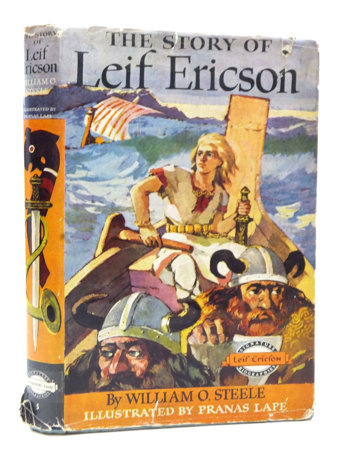 Photo of THE STORY OF LEIF ERICSON written by Steele, William O. published by Sampson Low (STOCK CODE: 1609137)  for sale by Stella & Rose's Books
