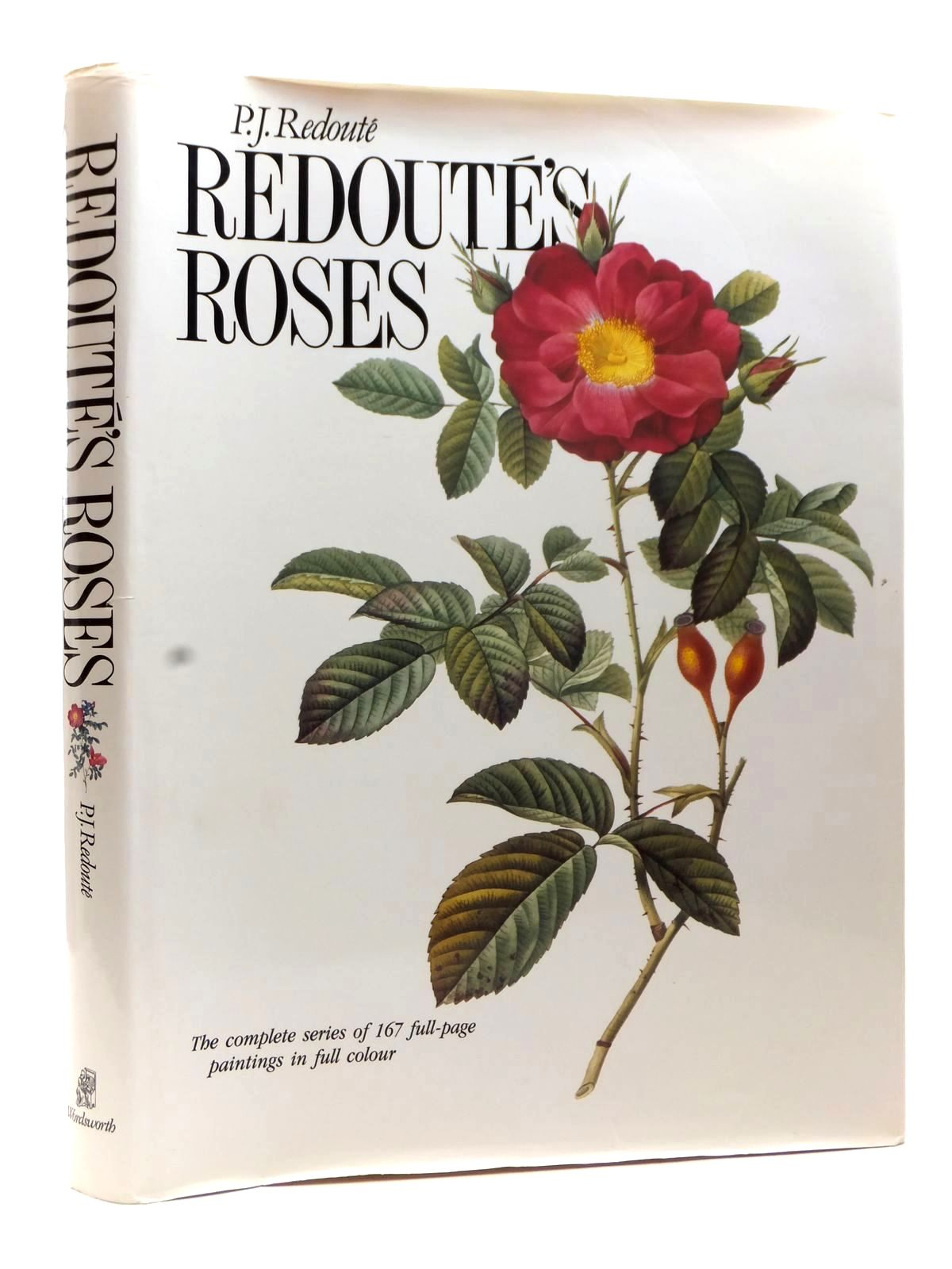 Photo of REDOUTE'S ROSES written by Redoute, Pierre-Joseph illustrated by Redoute, Pierre-Josephe published by Wordsworth Editions Ltd. (STOCK CODE: 1609188)  for sale by Stella & Rose's Books