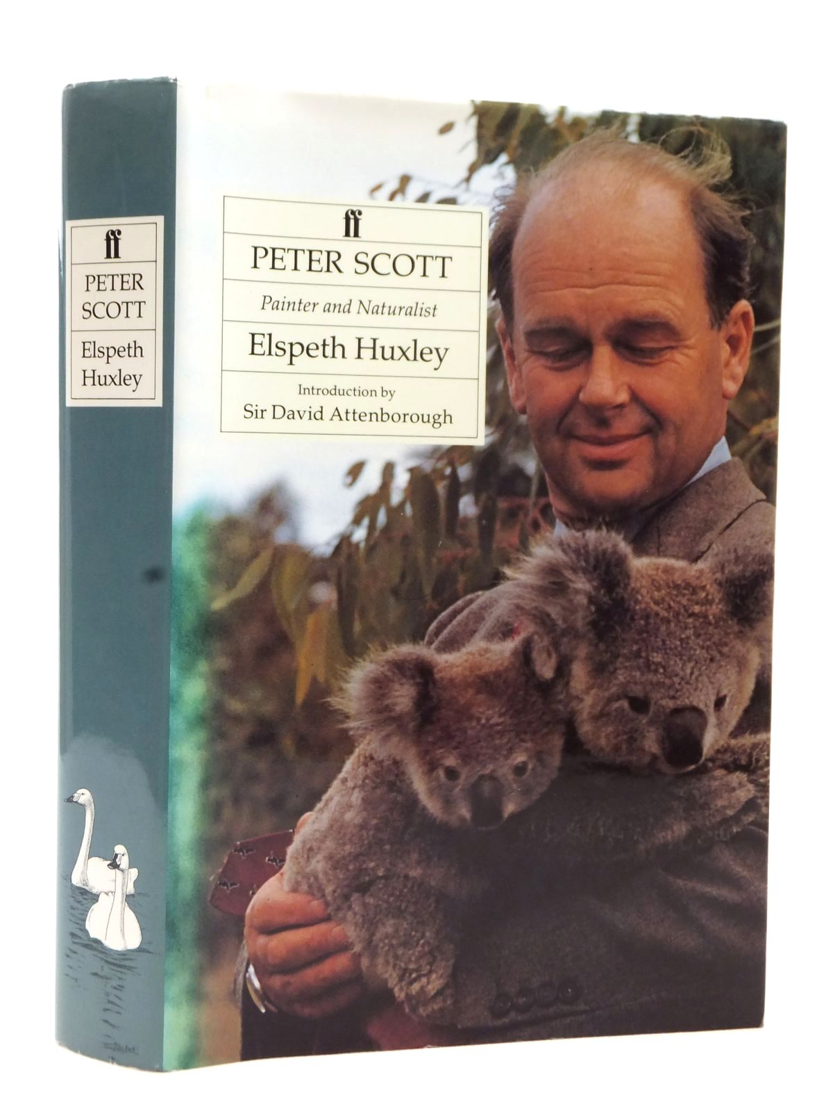 Photo of PETER SCOTT PAINTER AND NATURALIST written by Huxley, Elspeth published by Faber & Faber (STOCK CODE: 1609246)  for sale by Stella & Rose's Books