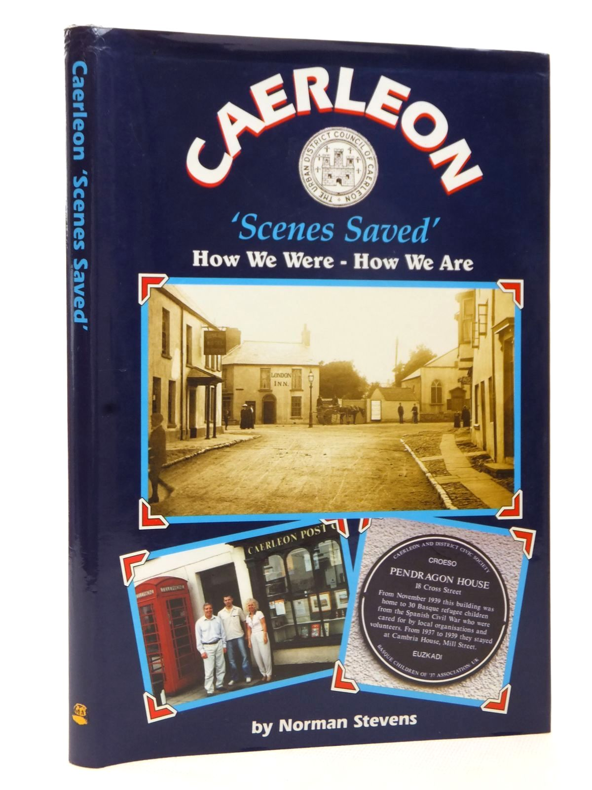 Photo of CAERLEON 'SCENES SAVED' written by Stevens, Norman published by Old Bakehouse Publications (STOCK CODE: 1609262)  for sale by Stella & Rose's Books
