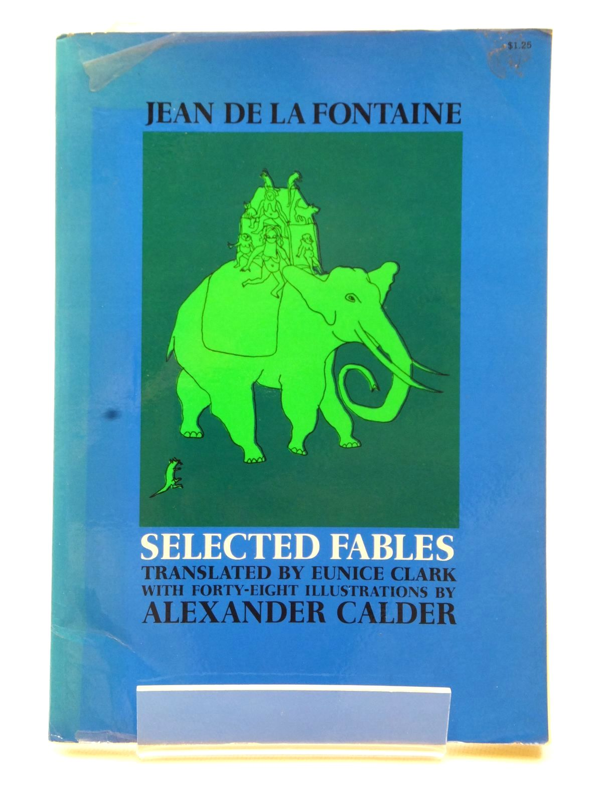 Photo of SELECTED FABLES written by De La Fontaine, Jean<br />Clark, Eunice illustrated by Calder, Alexander published by Dover Publications Inc. (STOCK CODE: 1609314)  for sale by Stella & Rose's Books