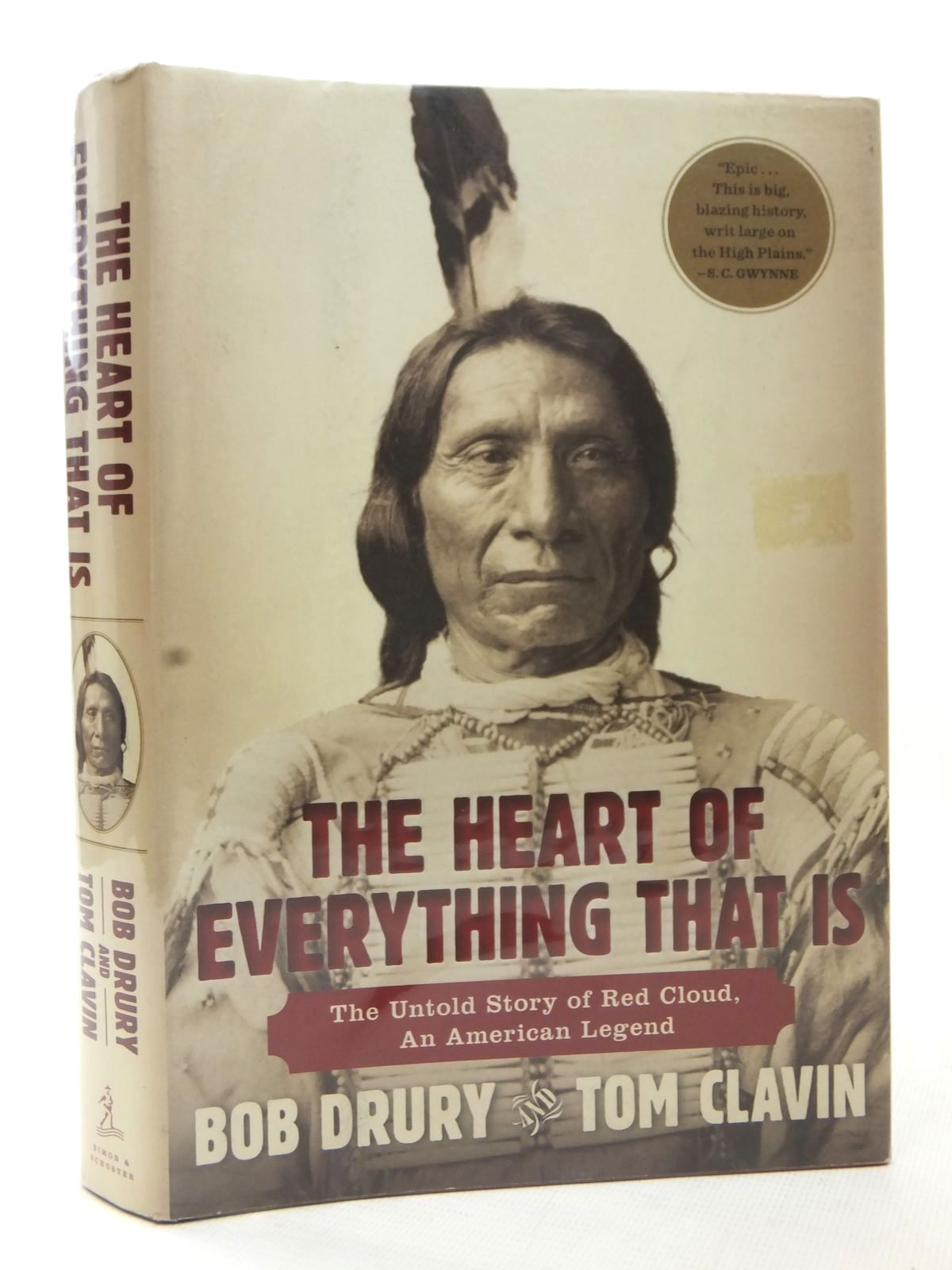 Photo of THE HEART OF EVERYTHING THAT IS written by Drury, Bob<br />Clavin, Tom published by Simon & Schuster (STOCK CODE: 1609331)  for sale by Stella & Rose's Books