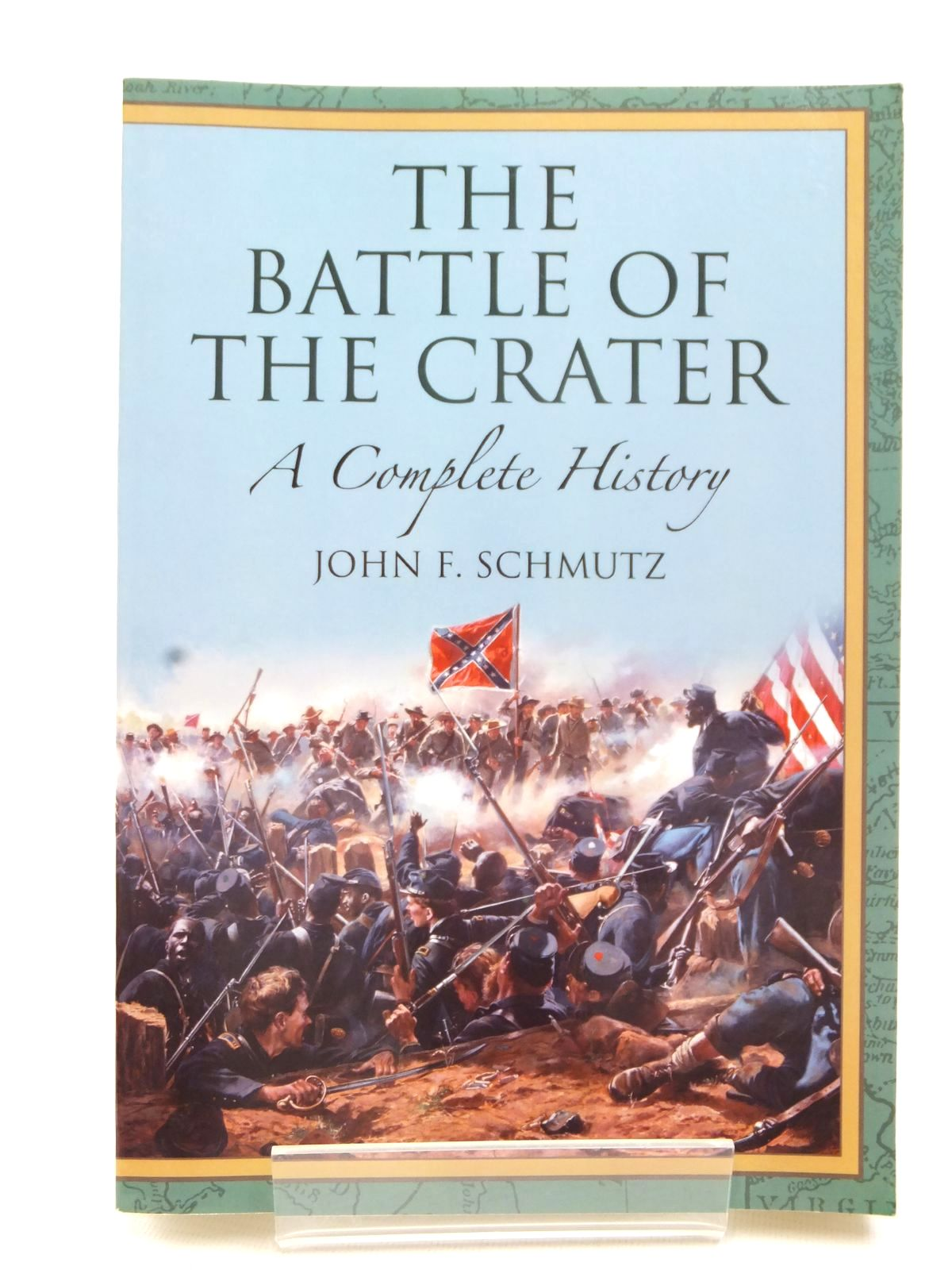 Photo of THE BATTLE OF THE CRATER written by Schmutz, John F. published by McFarland & Company, Inc. (STOCK CODE: 1609416)  for sale by Stella & Rose's Books