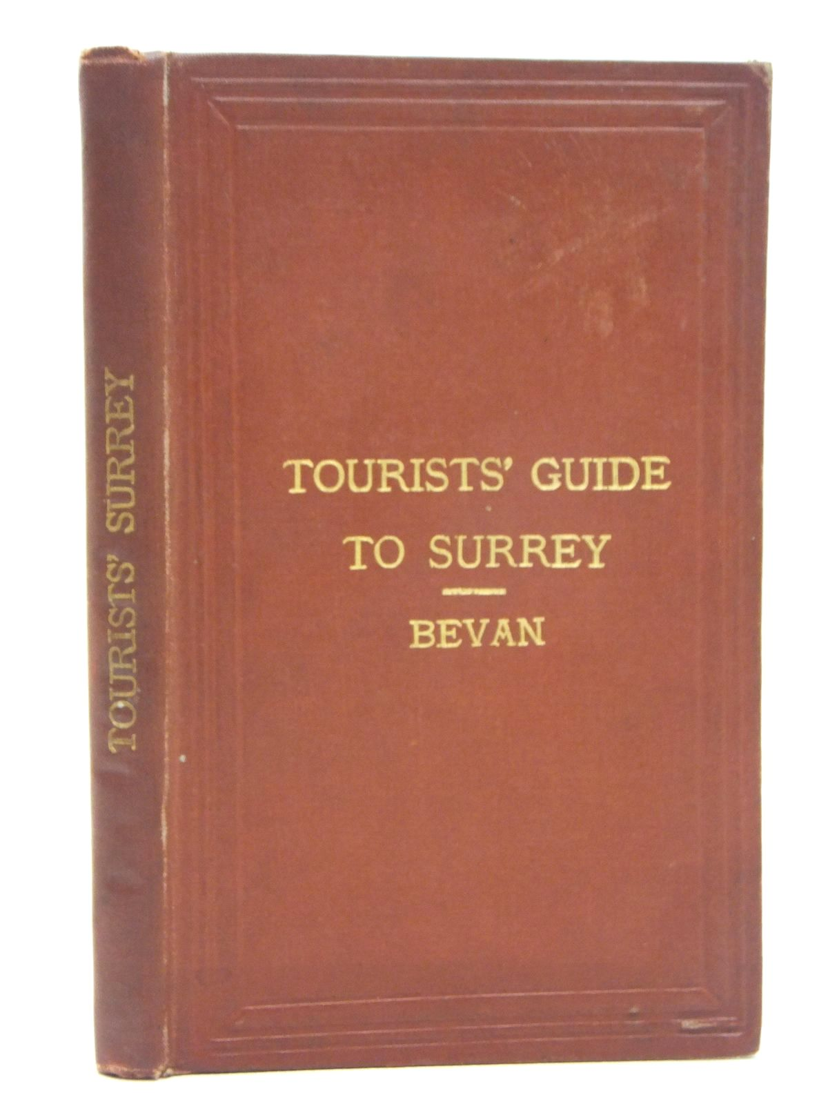 Photo of TOURIST'S GUIDE TO COUNTY OF SURREY written by Bevan, G. Phillips (STOCK CODE: 1609466)  for sale by Stella & Rose's Books