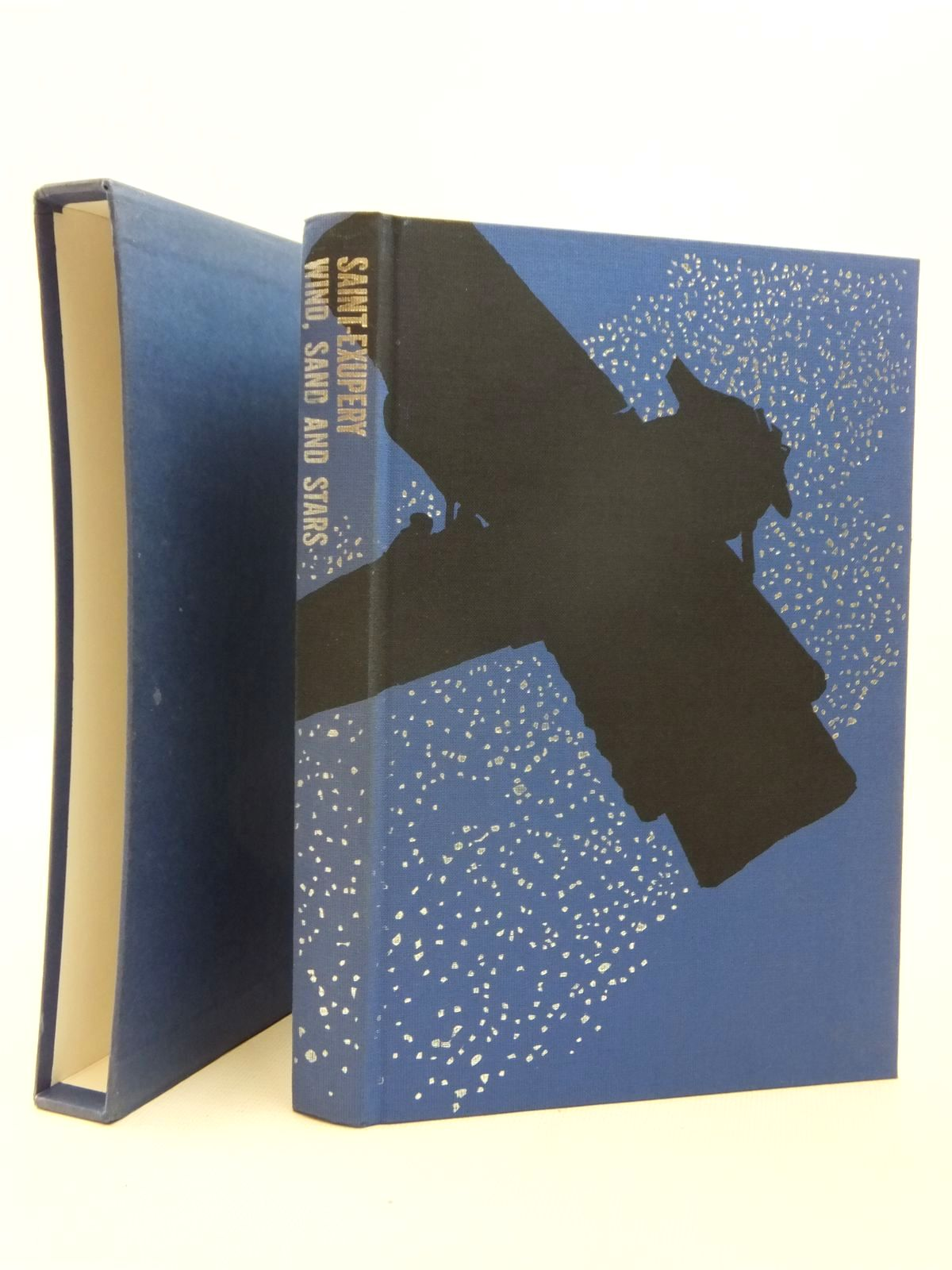 Photo of WIND, SAND AND STARS written by De Saint-Exupery, Antoine illustrated by Kitson, Linda published by Folio Society (STOCK CODE: 1609484)  for sale by Stella & Rose's Books