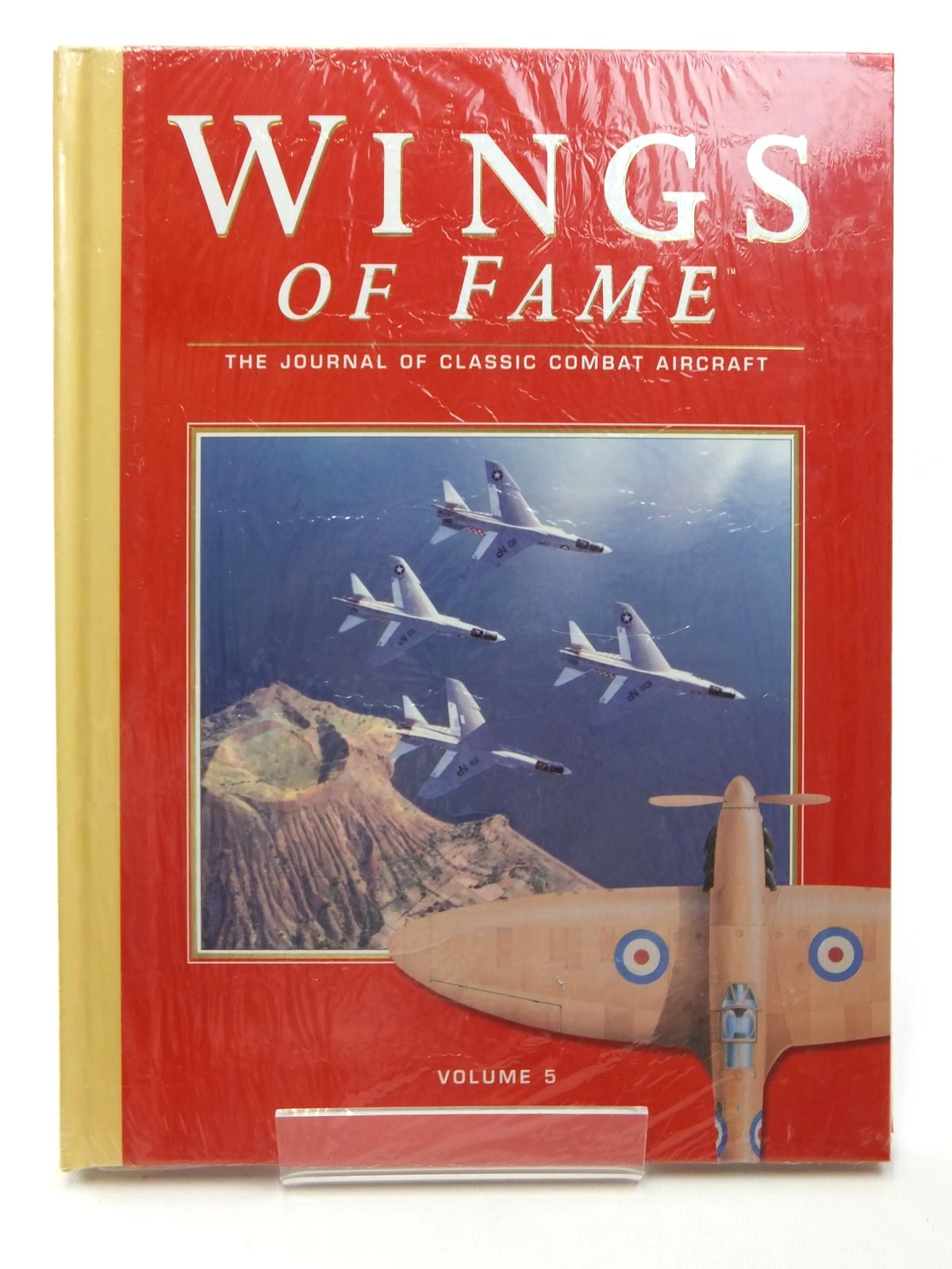 Photo of WINGS OF FAME VOLUME 5 published by Aerospace (STOCK CODE: 1609502)  for sale by Stella & Rose's Books