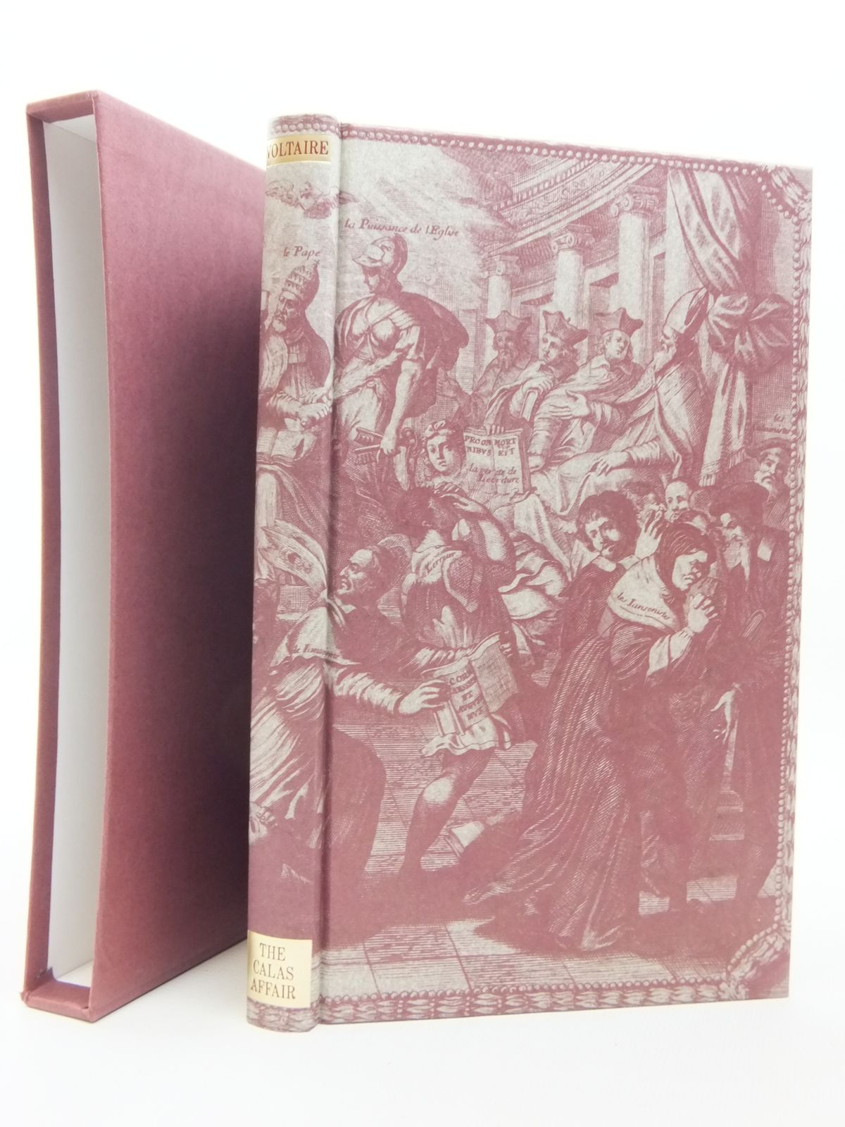 Photo of THE CALAS AFFAIR written by Voltaire, Francois Marie Arouet<br />Masters, Brian published by Folio Society (STOCK CODE: 1609505)  for sale by Stella & Rose's Books