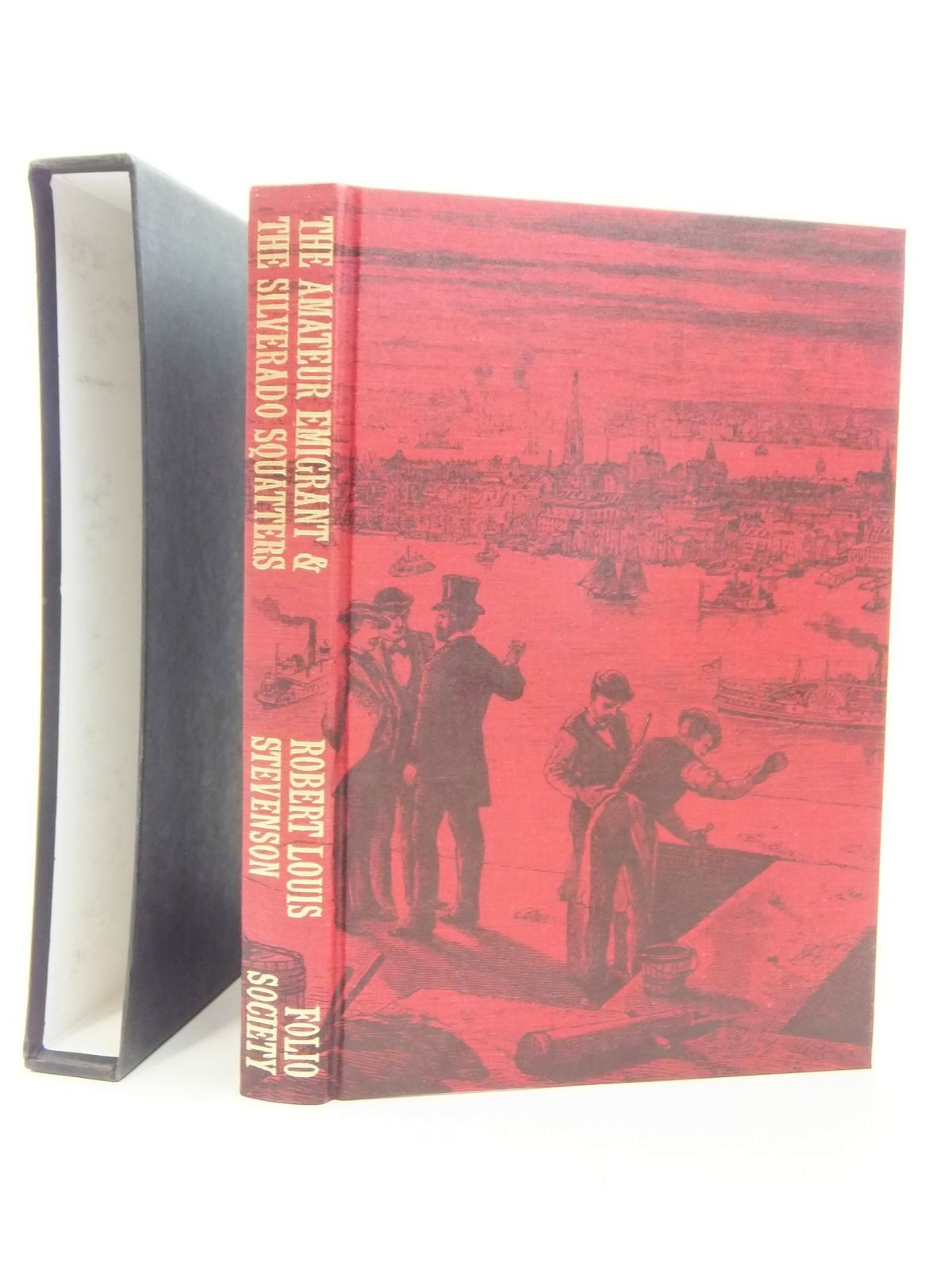 Photo of THE AMATEUR EMIGRANT & THE SILVERADO SQUATTERS written by Stevenson, Robert Louis published by Folio Society (STOCK CODE: 1609515)  for sale by Stella & Rose's Books