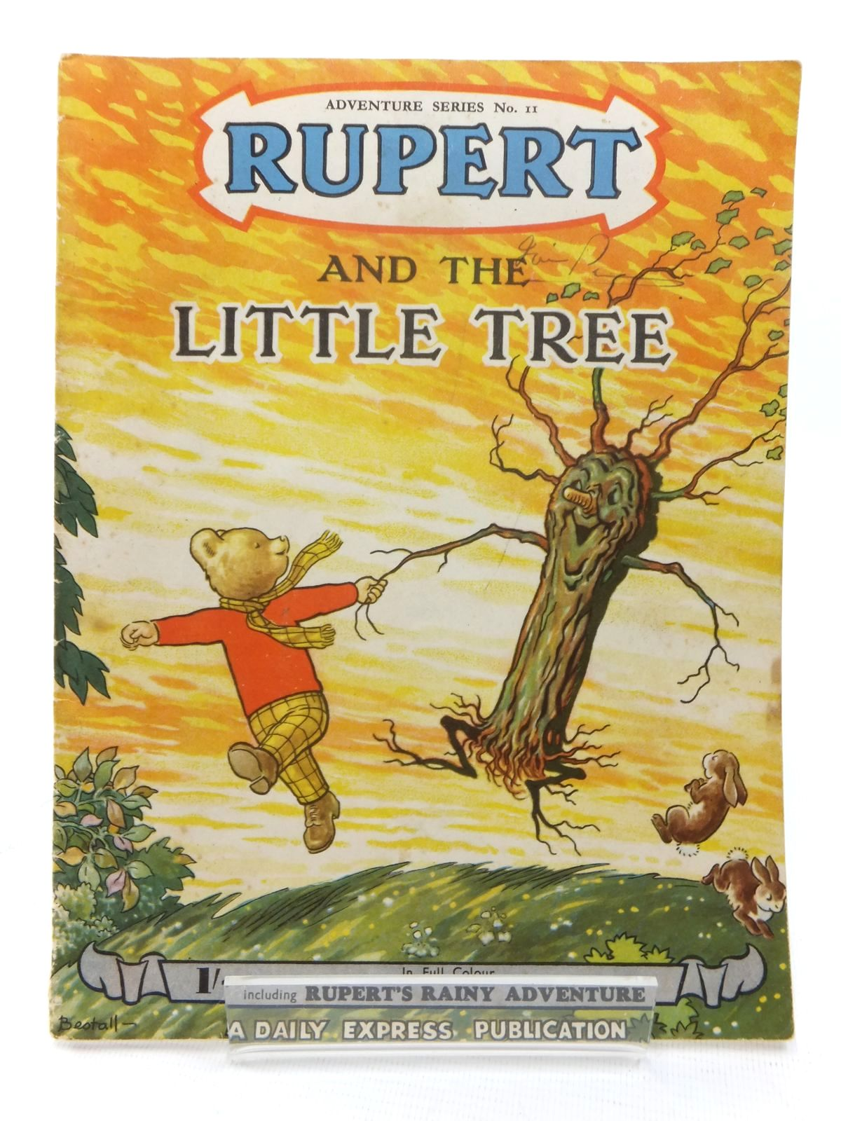 Photo of RUPERT ADVENTURE SERIES No. 11 - RUPERT AND THE LITTLE TREE written by Bestall, Alfred illustrated by Bestall, Alfred published by Daily Express (STOCK CODE: 1609553)  for sale by Stella & Rose's Books