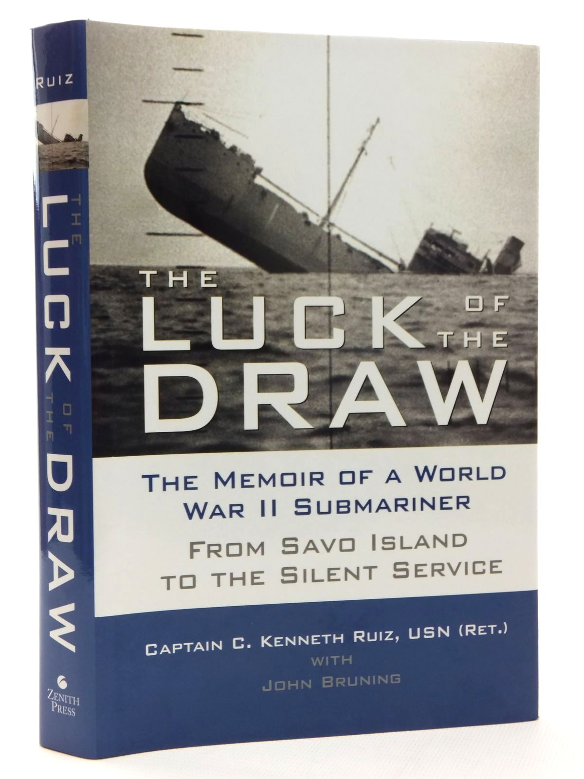 Photo of THE LUCK OF THE DRAW written by Ruiz, Kenneth published by Zenith Press (STOCK CODE: 1609558)  for sale by Stella & Rose's Books