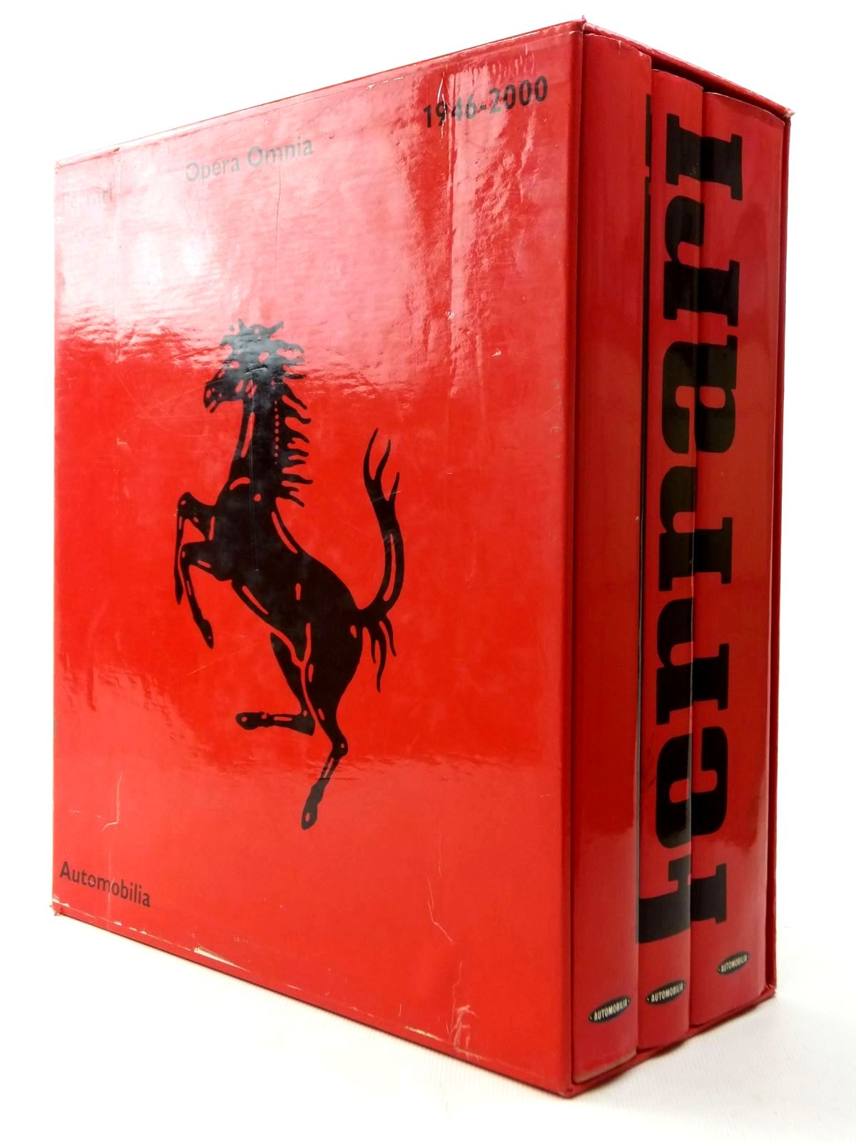 Photo of FERRARI OPERA OMNIA 1946-2000 (3 VOLUMES) published by Automobilia (STOCK CODE: 1609596)  for sale by Stella & Rose's Books