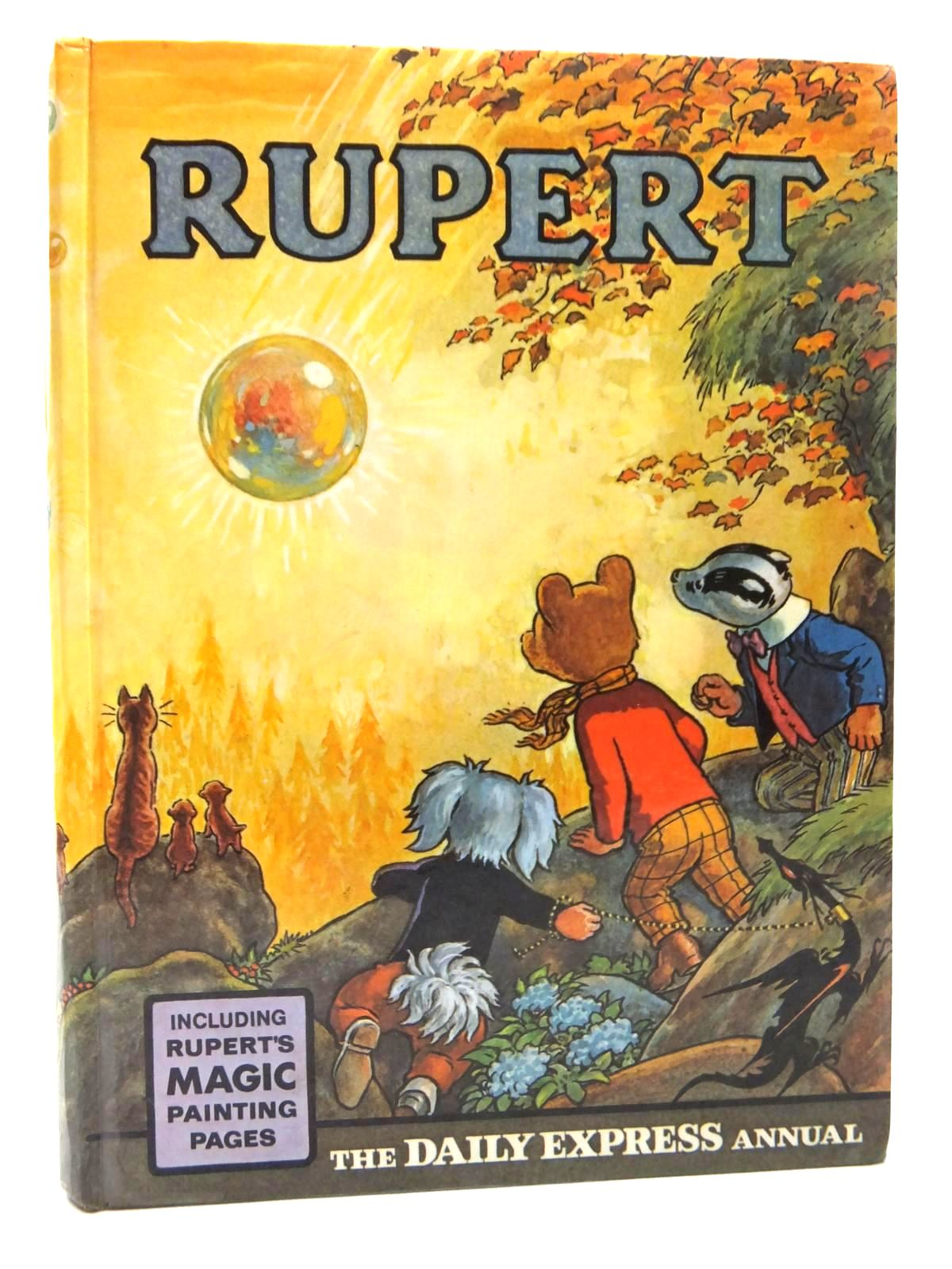 Photo of RUPERT ANNUAL 1968 written by Bestall, Alfred illustrated by Bestall, Alfred published by Daily Express (STOCK CODE: 1609602)  for sale by Stella & Rose's Books