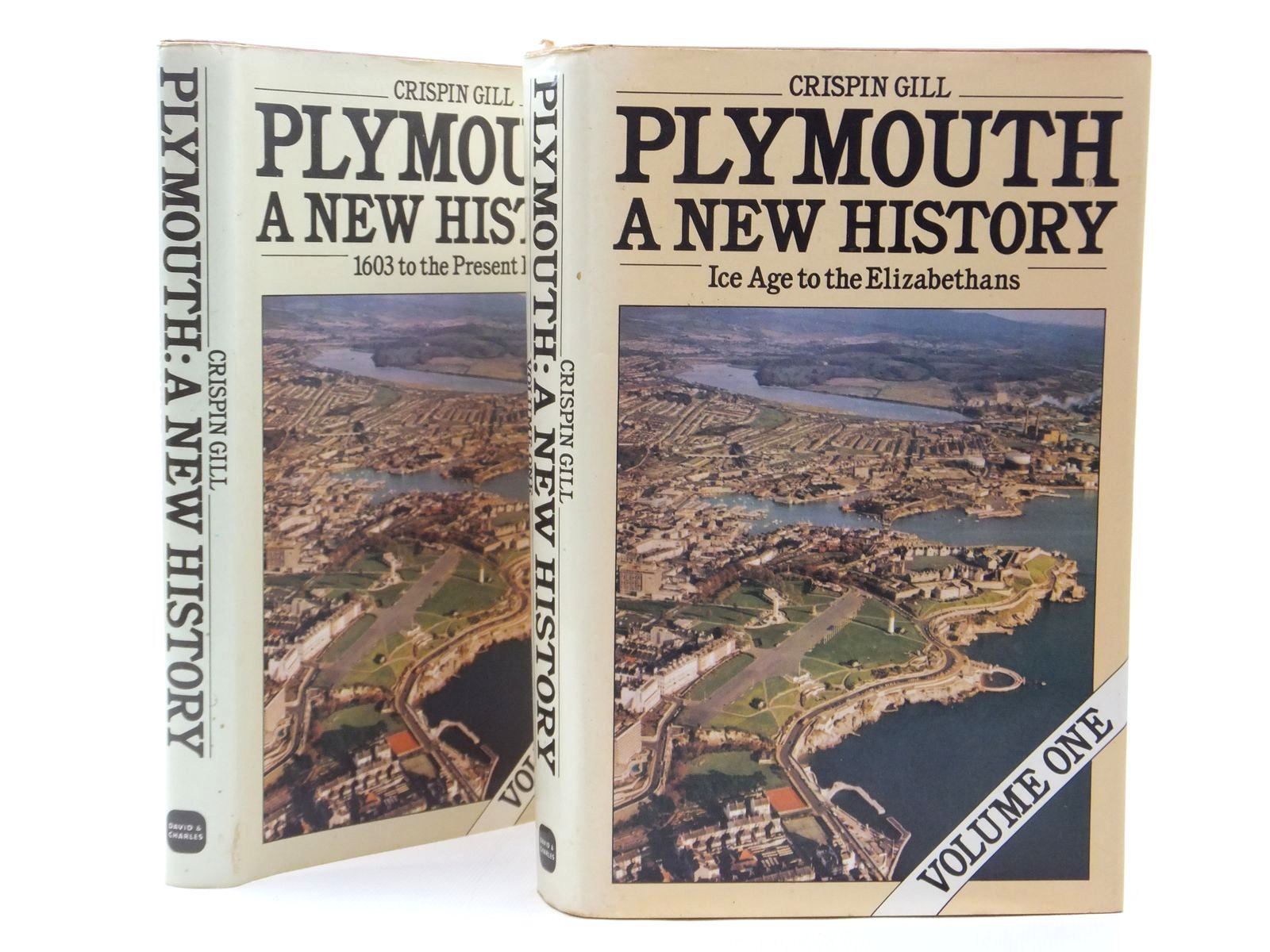 Photo of PLYMOUTH A NEW HISTORY (2 VOLUMES) written by Gill, Crispin published by David & Charles (STOCK CODE: 1609617)  for sale by Stella & Rose's Books